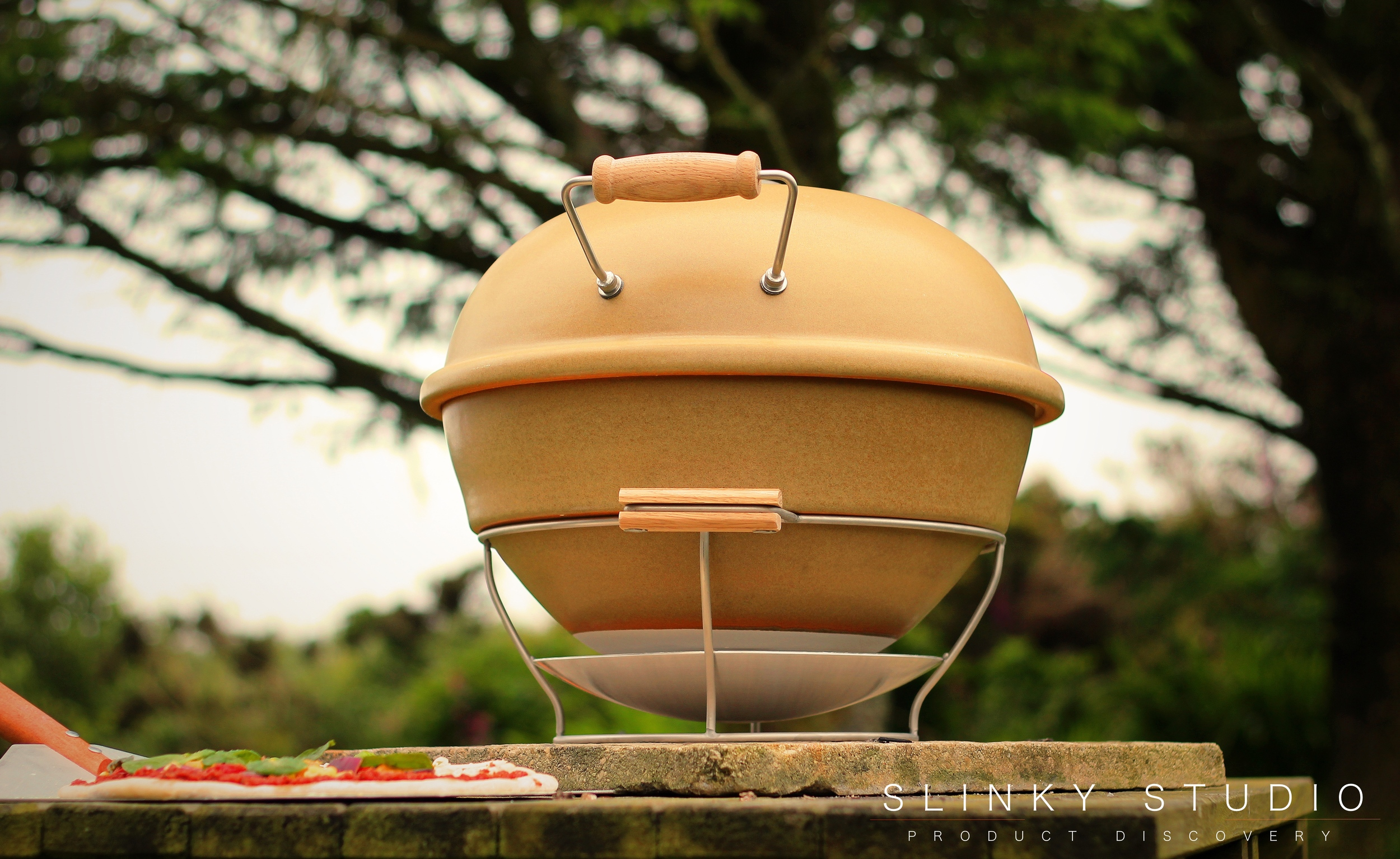 Grenadier Earth Fire Pizza Oven Handle Side View Looking up into Sky.jpg