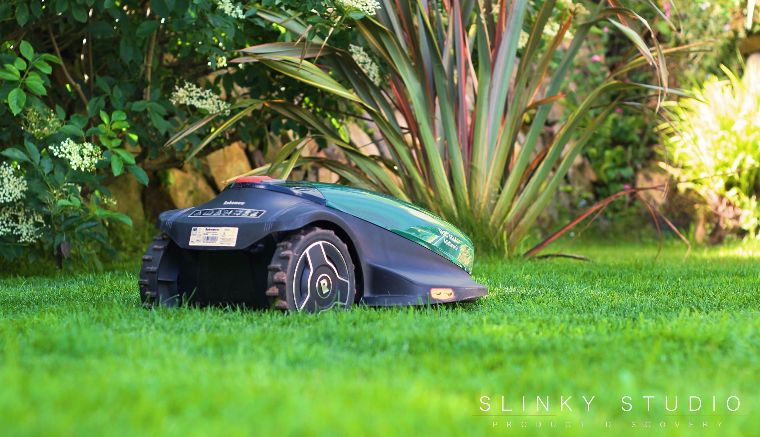 Robomow RC304 Robot Lawnmower Mowing Lawn.jpg