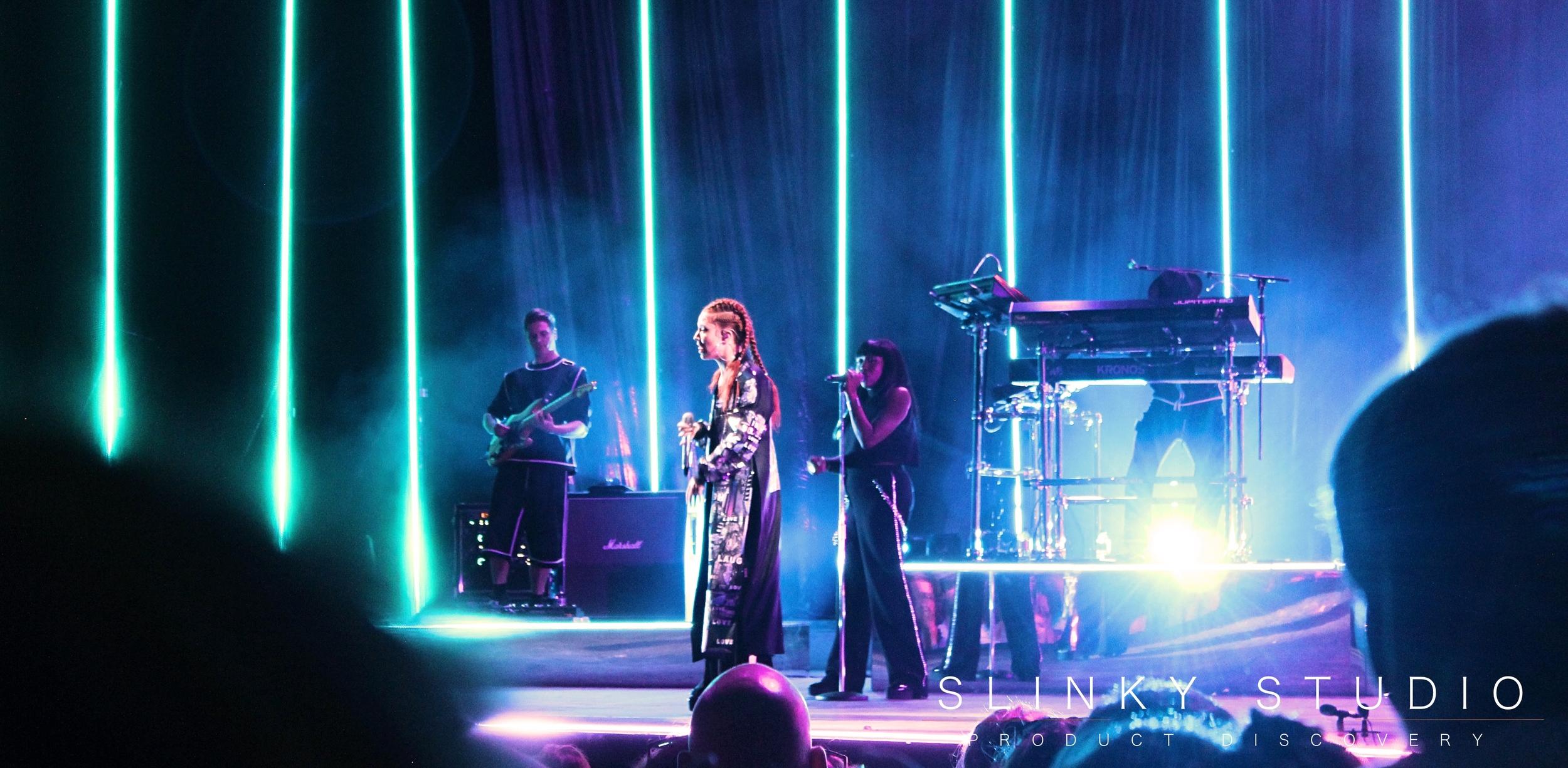 Jess Glynne - Eden Sessions Strobe Lighting.jpg