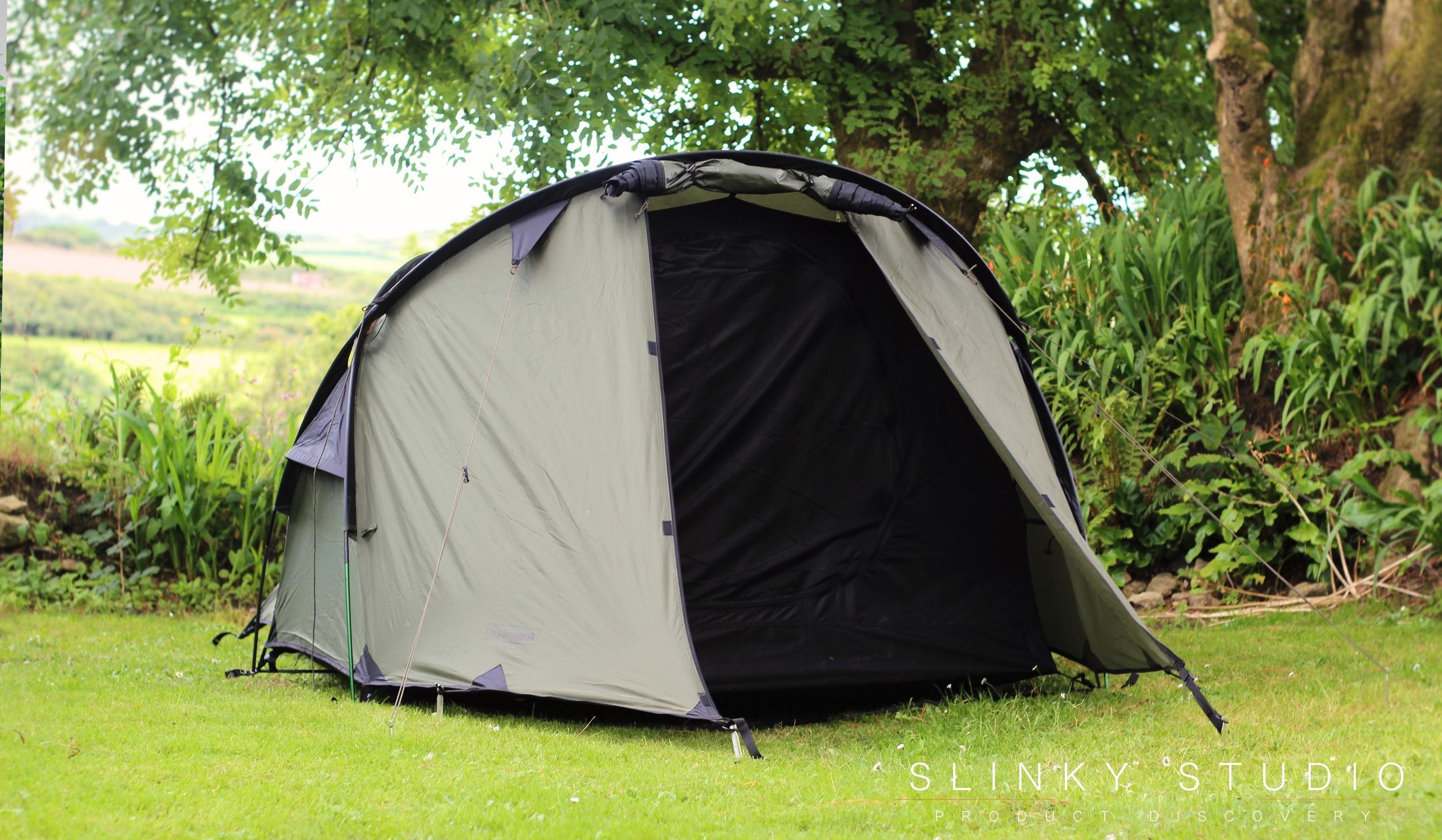 Snugpak Scorpion 3 Tent Front Door Open.jpg