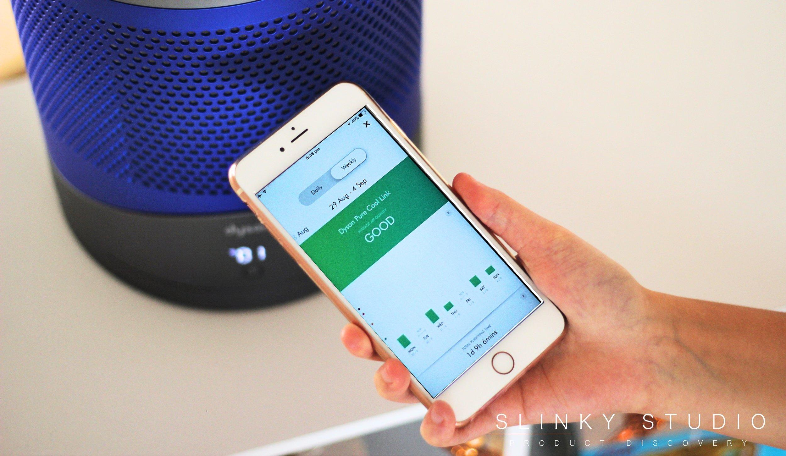 Dyson Pure Cool Link iOS App History Air Quality.jpg
