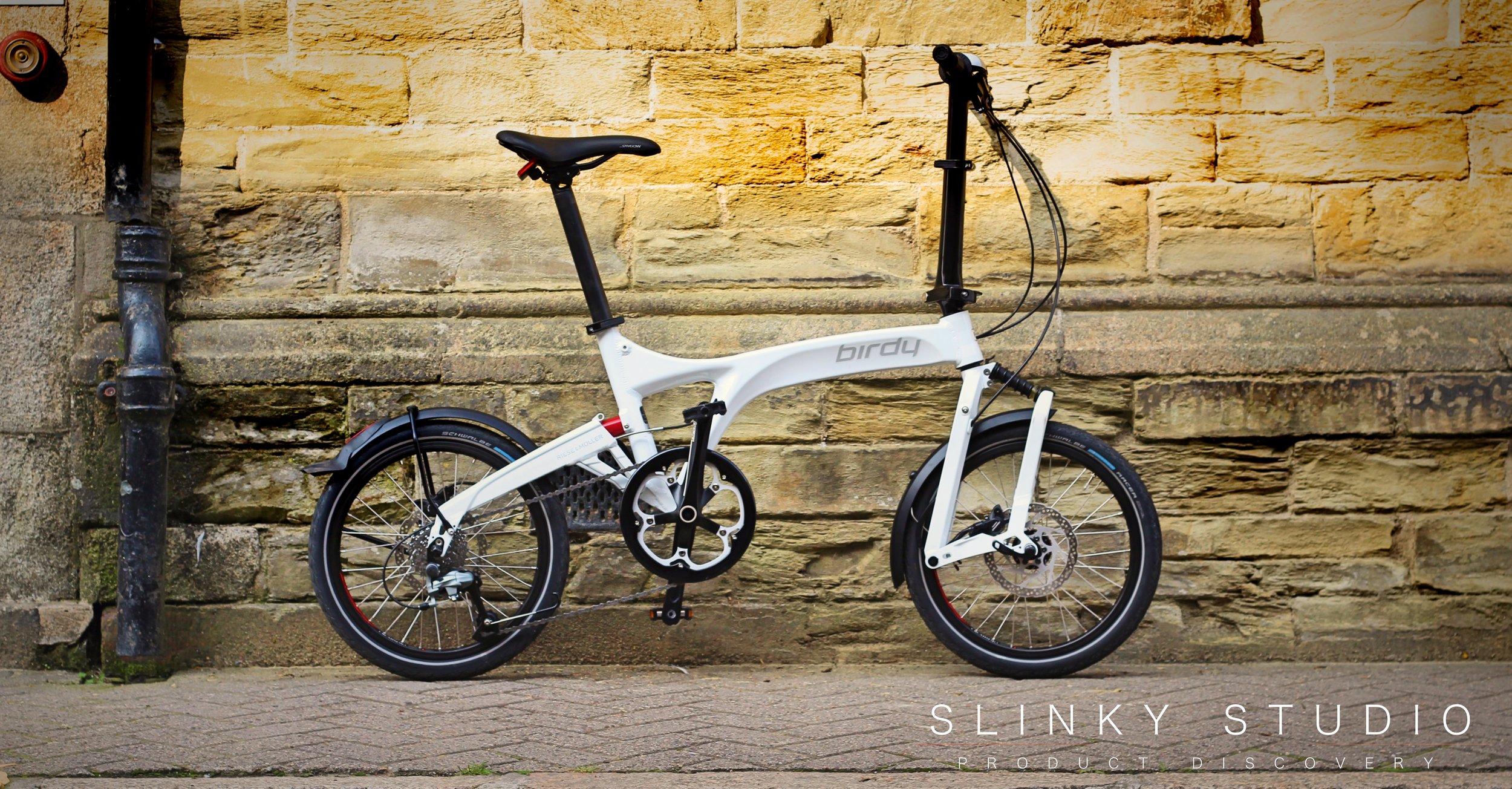Birdy Speed Folding Bike White