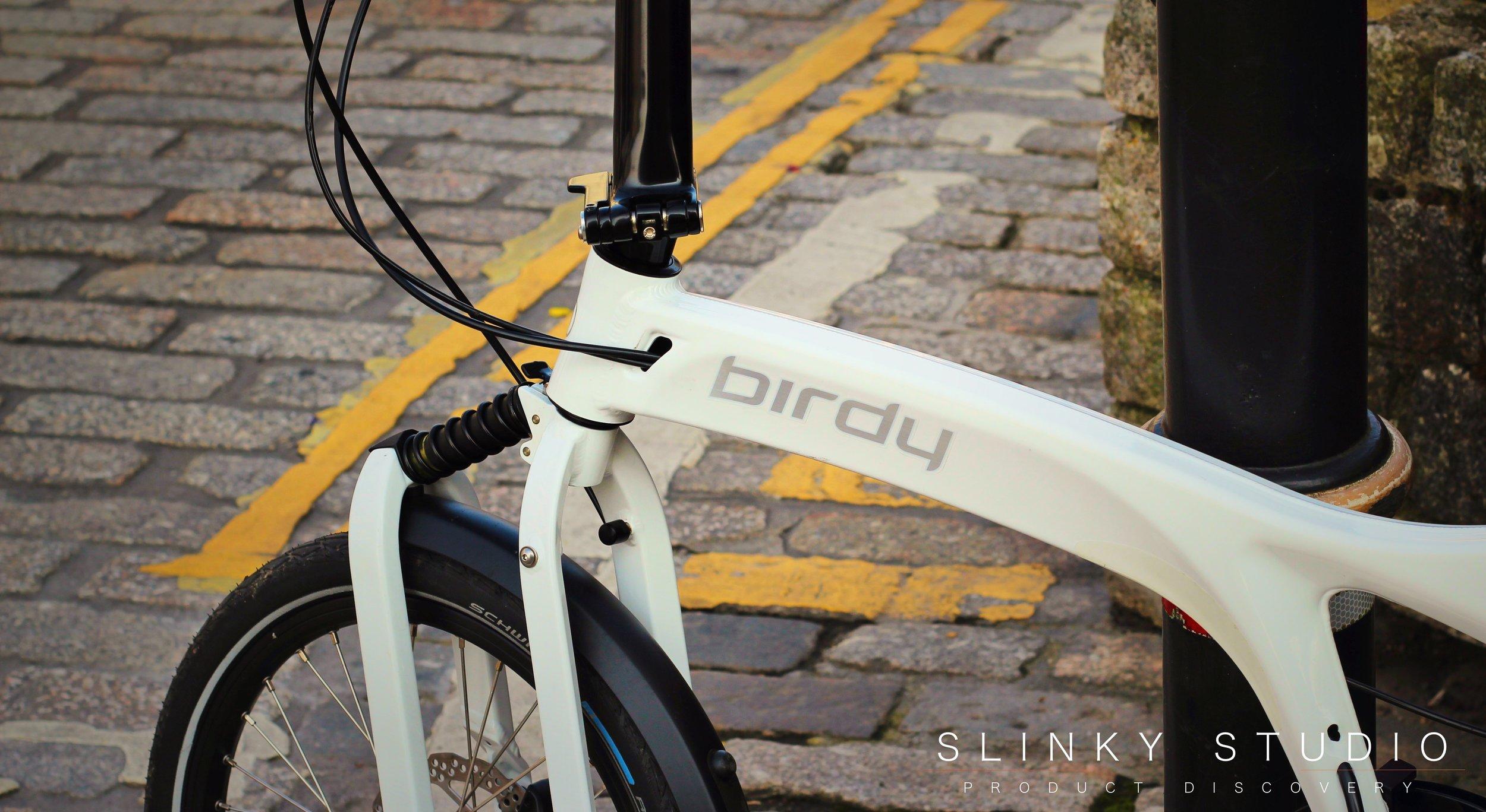 Birdy Speed Folding Bike Logo on Frame.jpg
