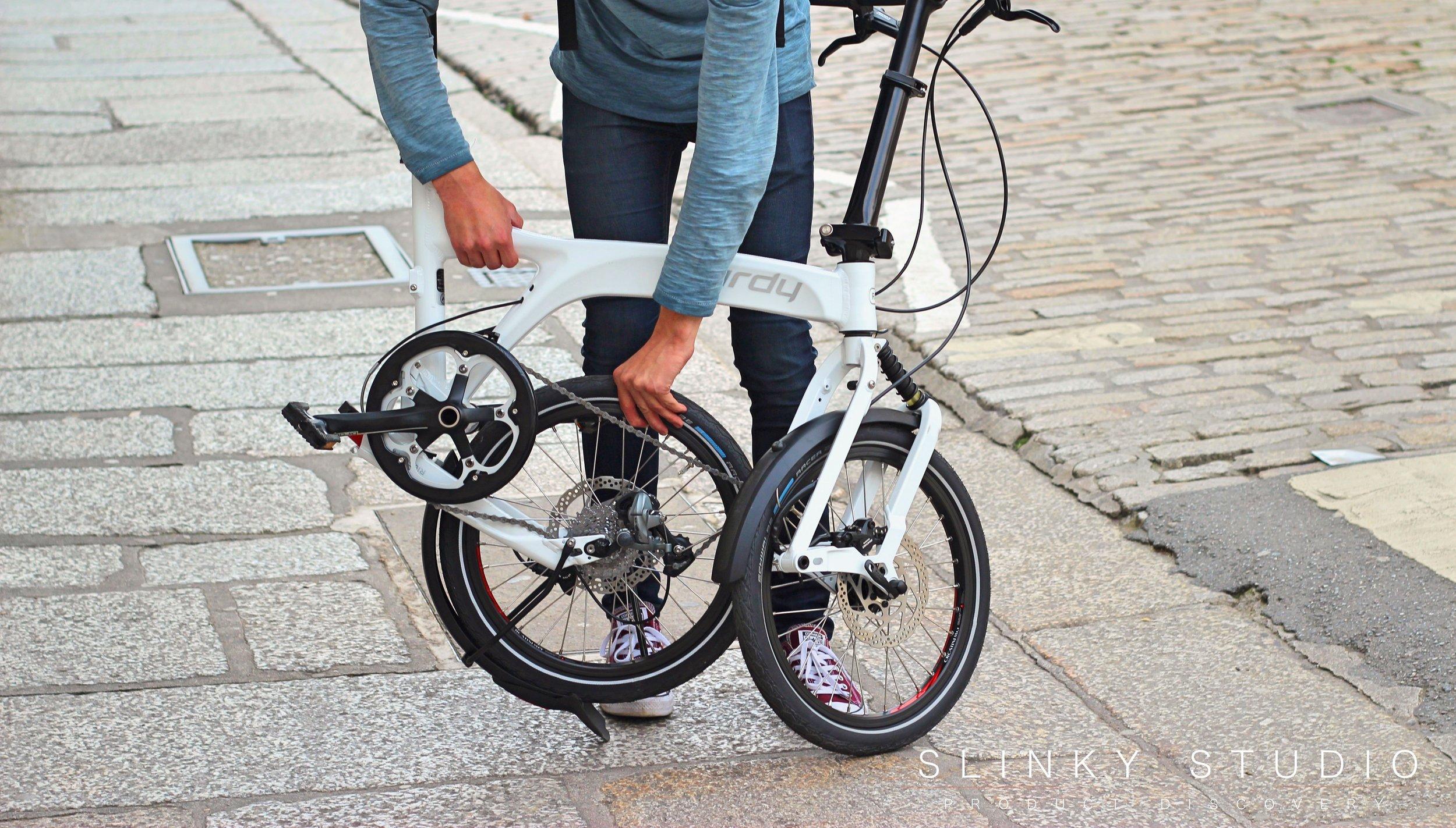 Birdy Speed Folding Bike Unfolding Rear Wheel.jpg