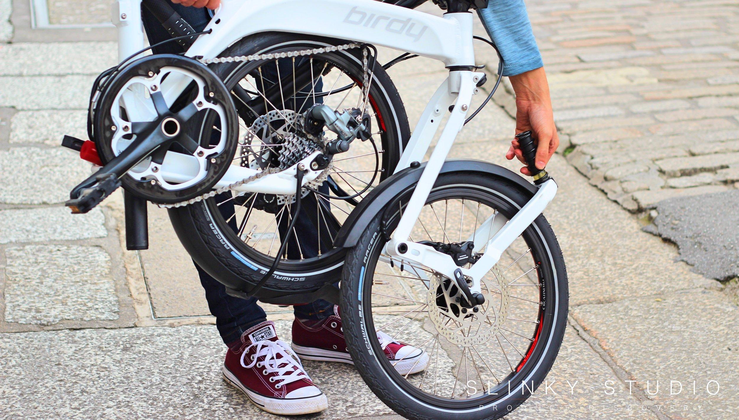 Birdy Speed Folding Bike Unfolding Front Wheel.jpg