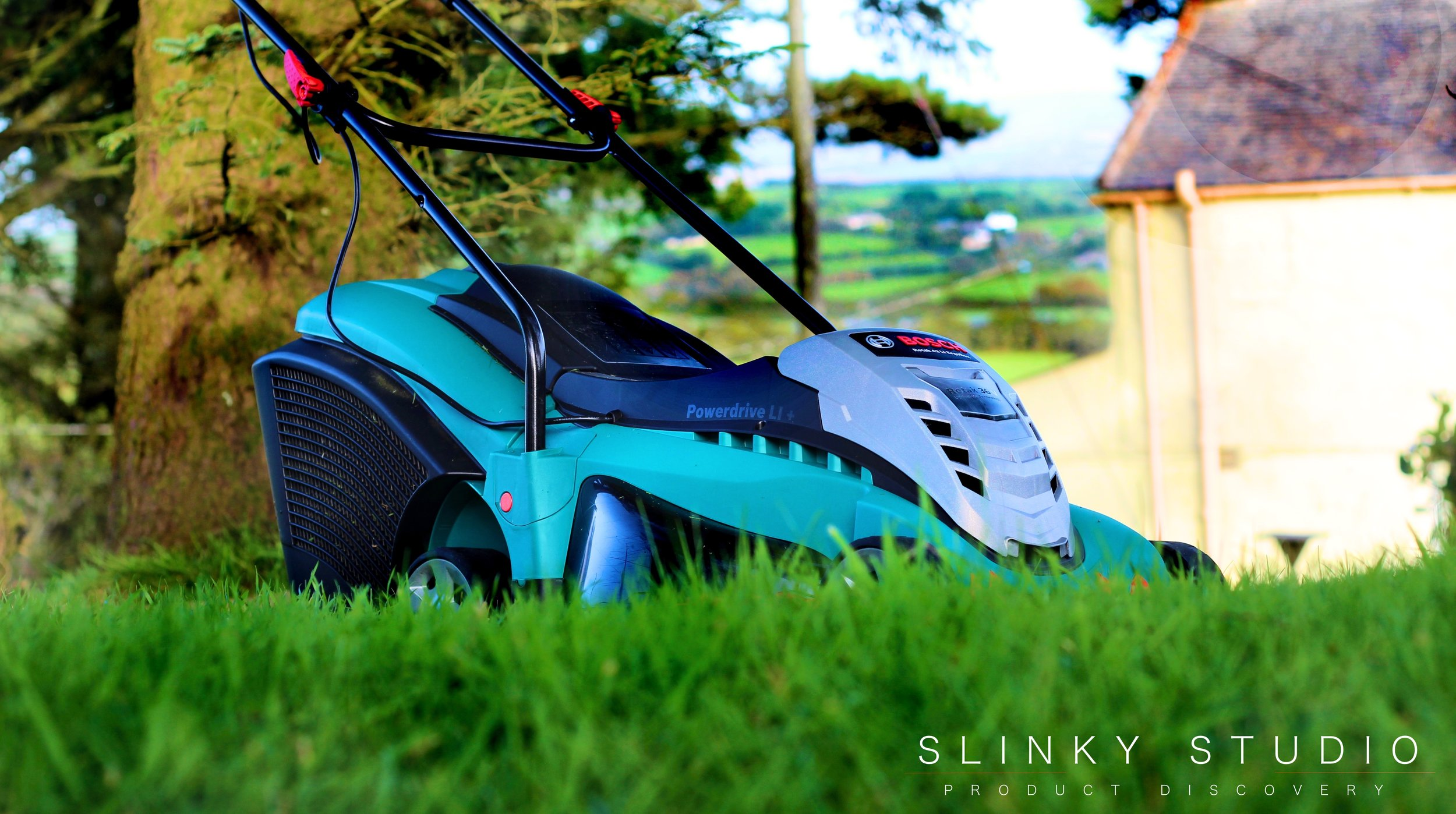 Bosch Rotak 43 LI Ergoflex Cordless Lawnmower Low Profile View.jpg