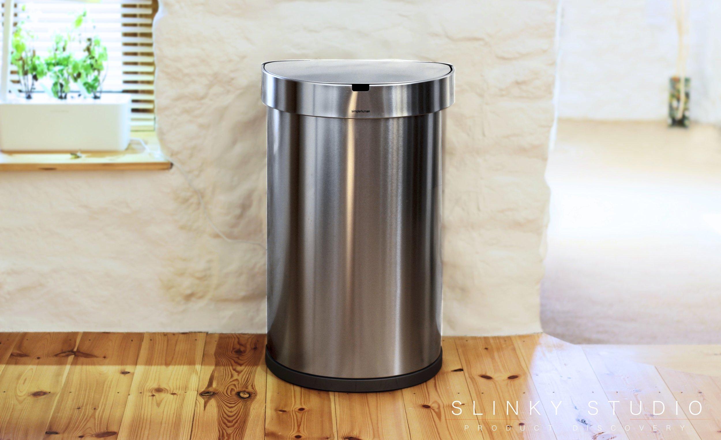 simplehuman 45 litre Semi-Round Sensor Bin