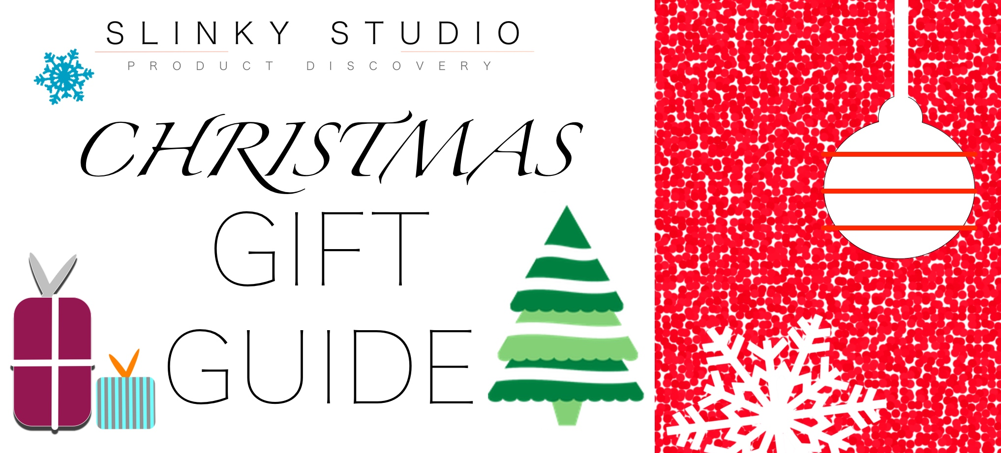 Ultimate Christmas Gift Guide 2016 Graphic