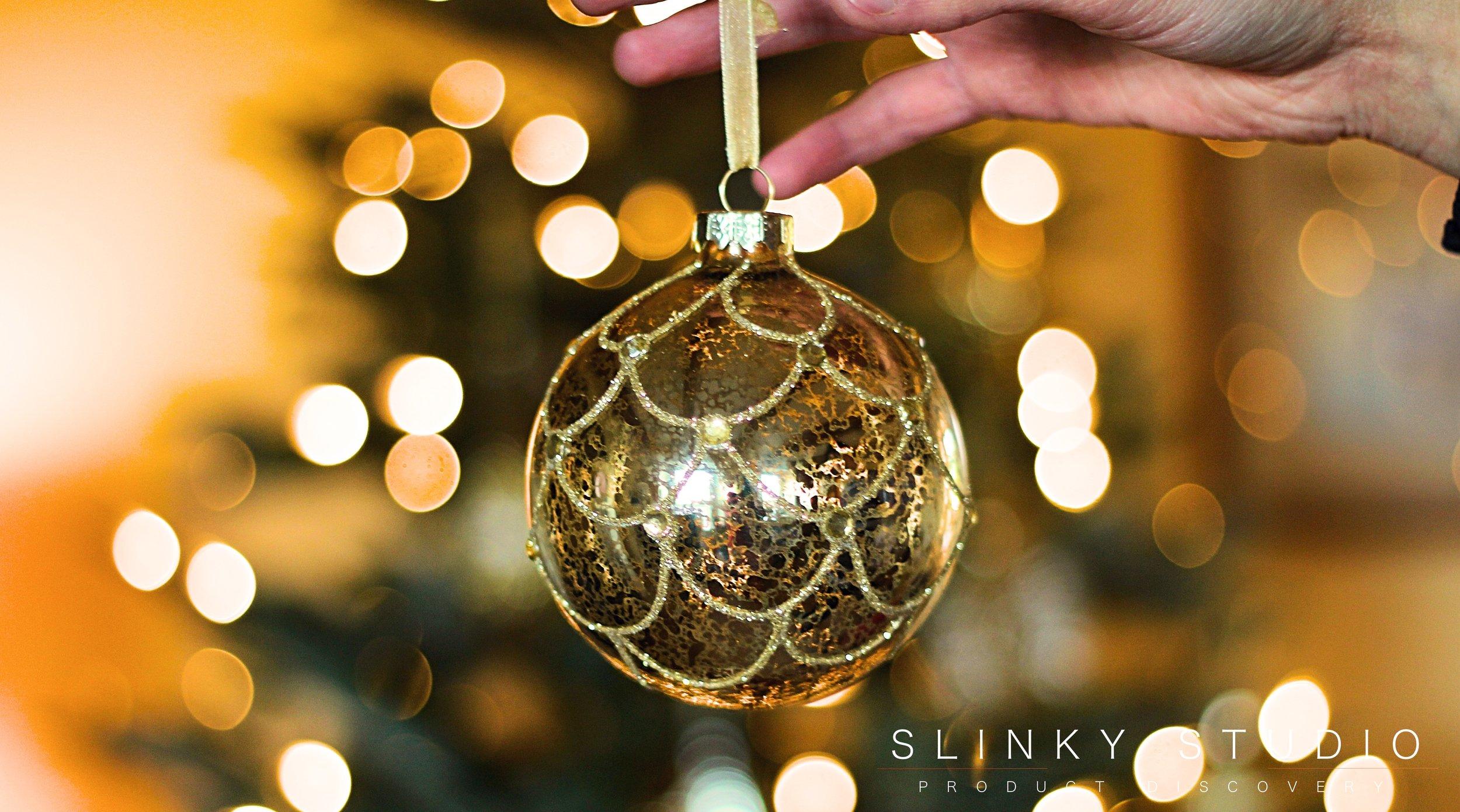 Balsam Hill Fraser Fir Christmas Tree Gold Glass Bauble.jpg