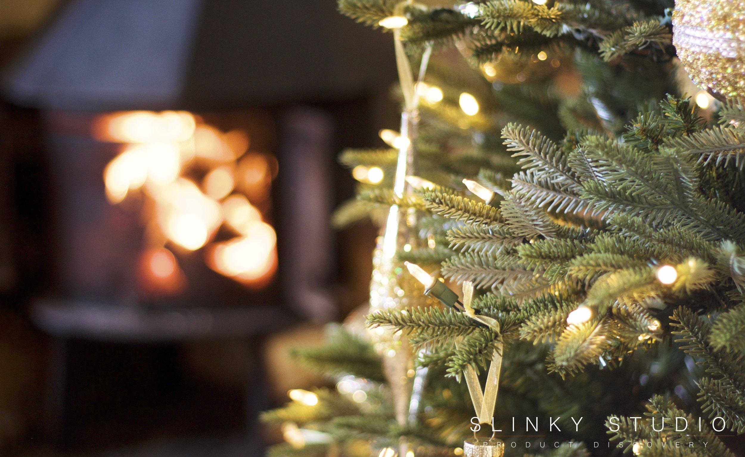 Balsam Hill Fraser Fir Christmas Tree Wood Burning Stove English Cottage.jpg