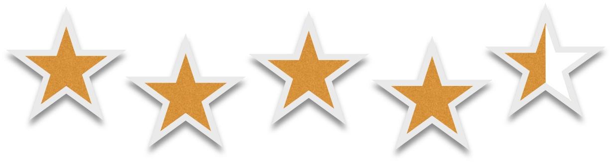 Four Half Stars