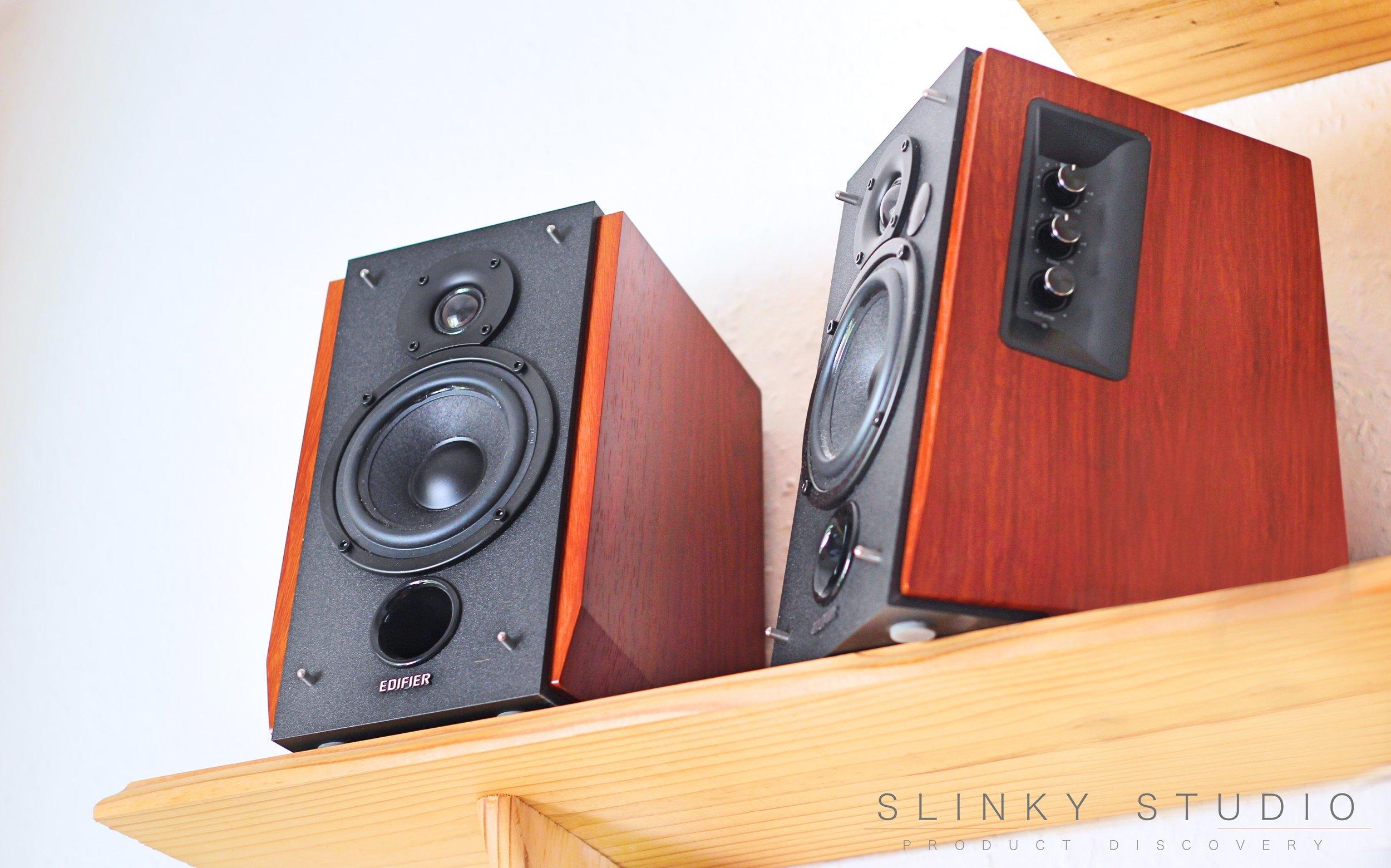 Edifier R1700BT Speaker Bookshelf Grill Covers Removed .jpg