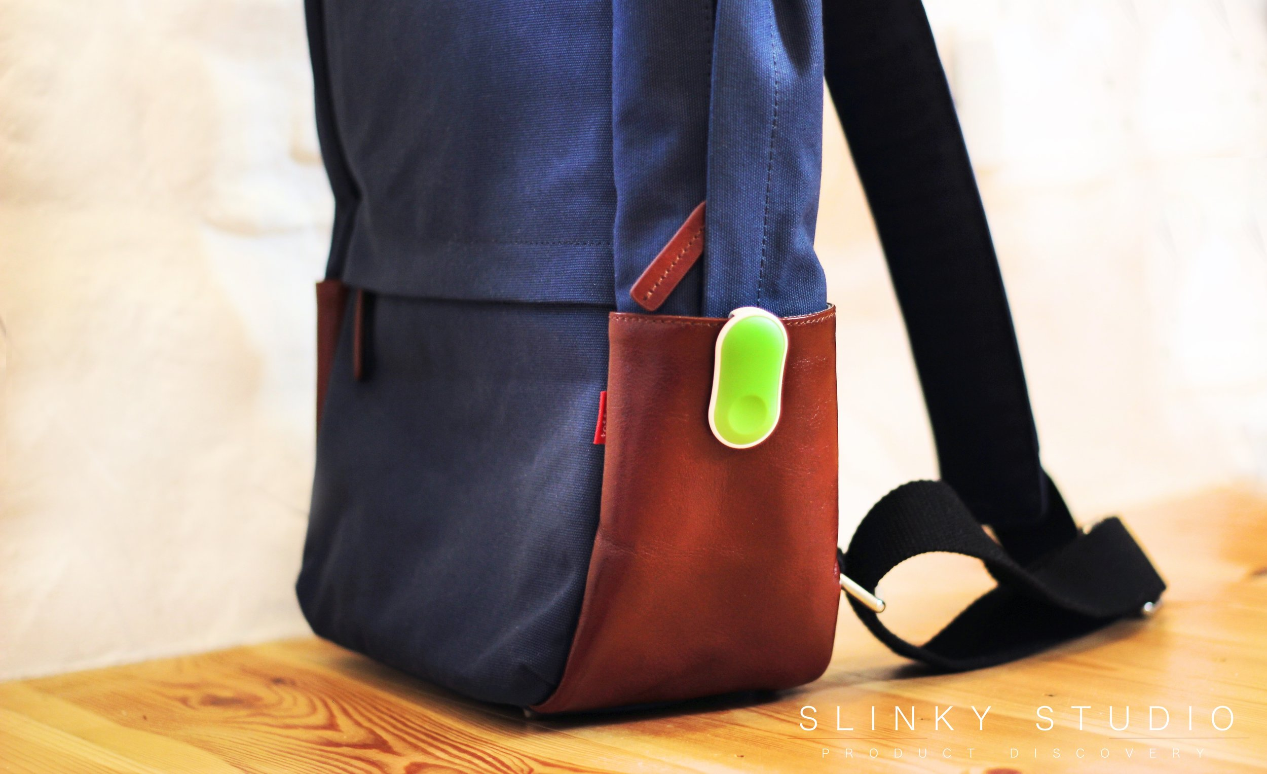 Sen.se GaurdPeanut Clipped onto Backpack.jpg