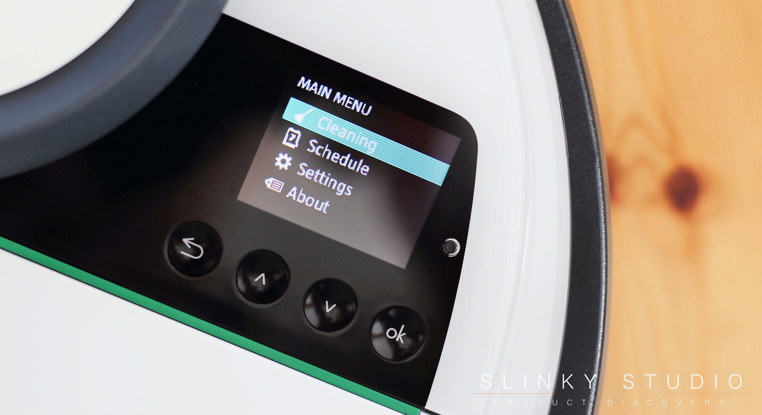 Vorwerk Kobold VR200 Robot Cleaner Controls Screen Menu.jpg
