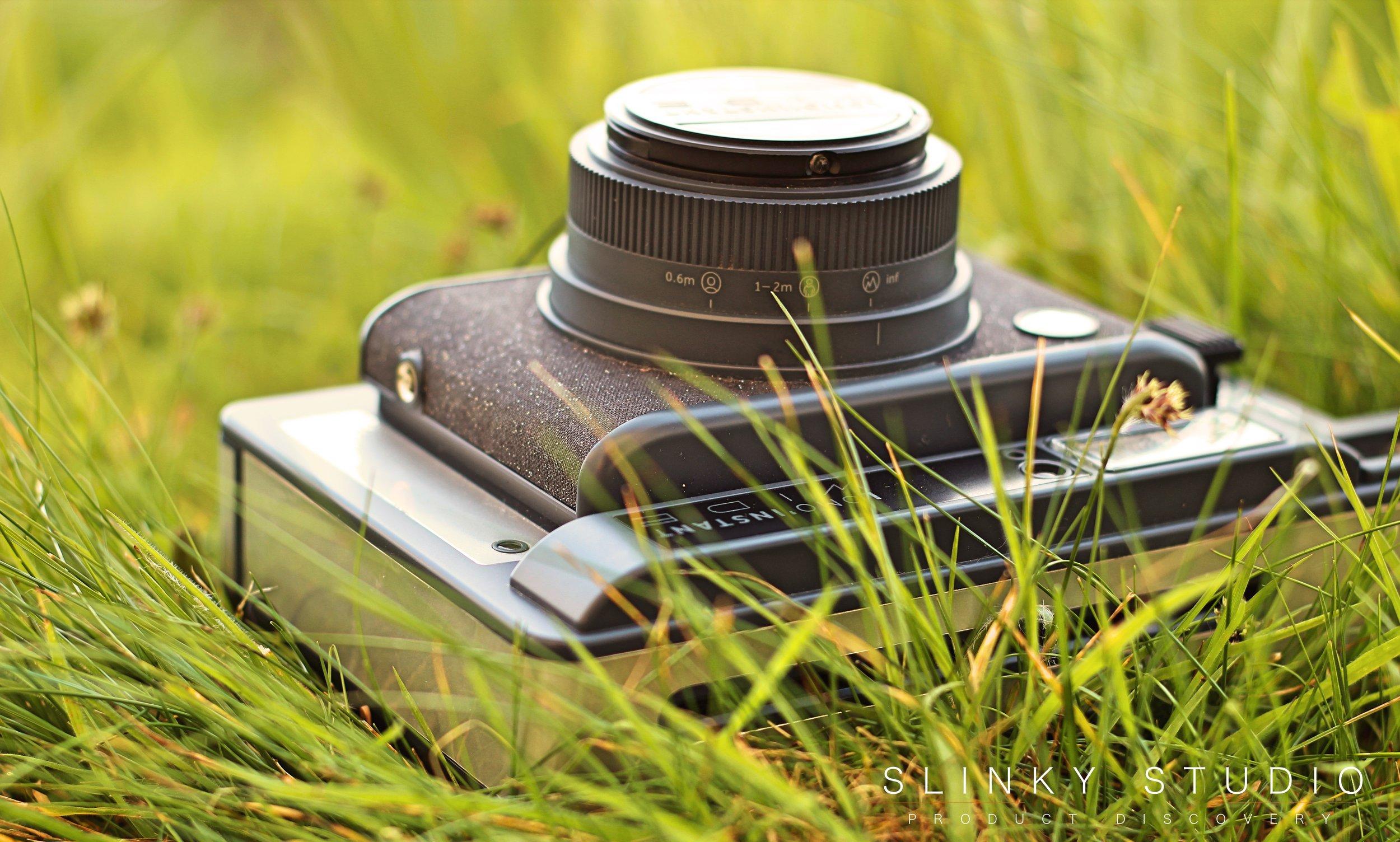 Lomography Lomo'Instant Wide Camera Close Up Through Grass.jpg