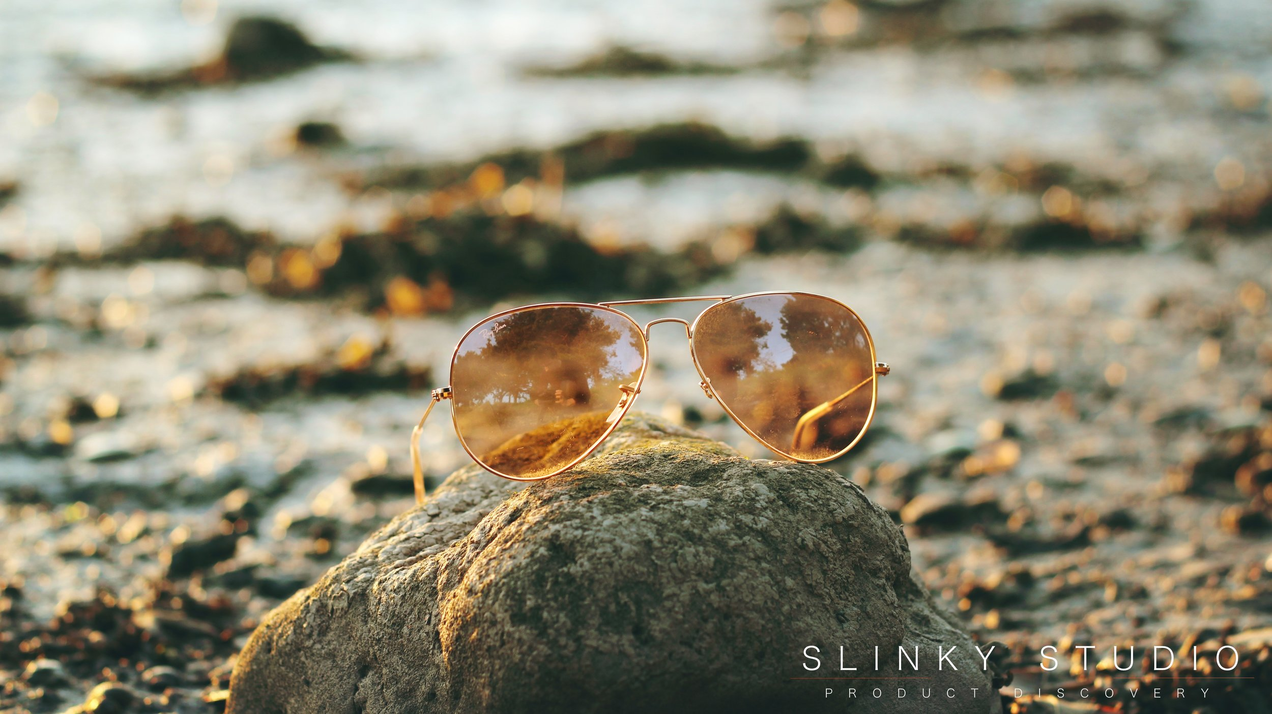 Ray Ban Aviator Sunglasses RB3025 Front View.jpg