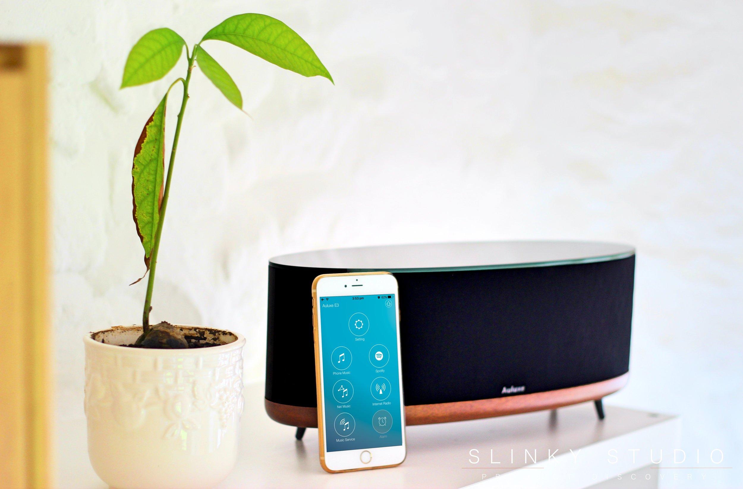 Auluxe Wave E3 Speaker App