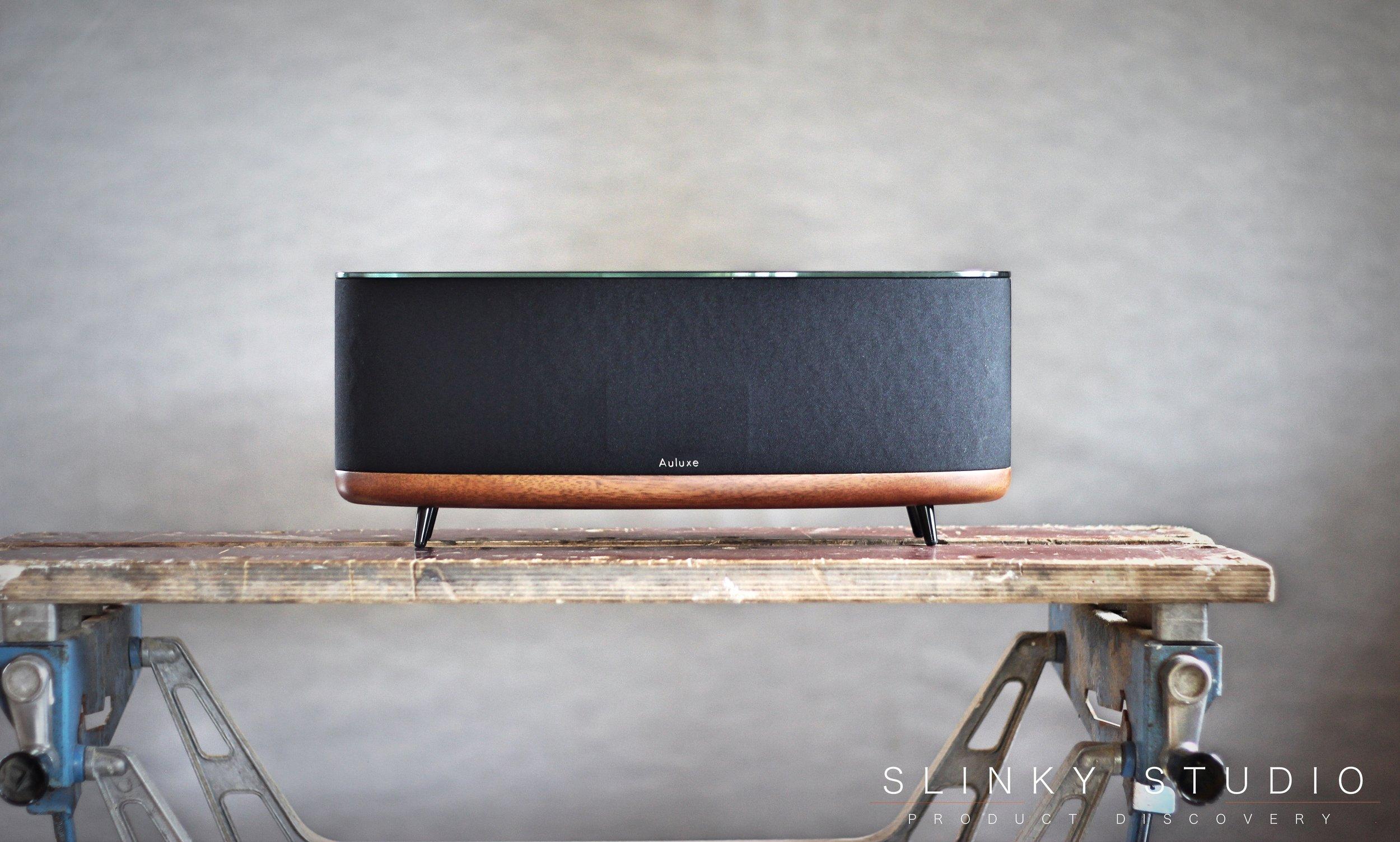 Auluxe E3 Speaker on workbench.jpg