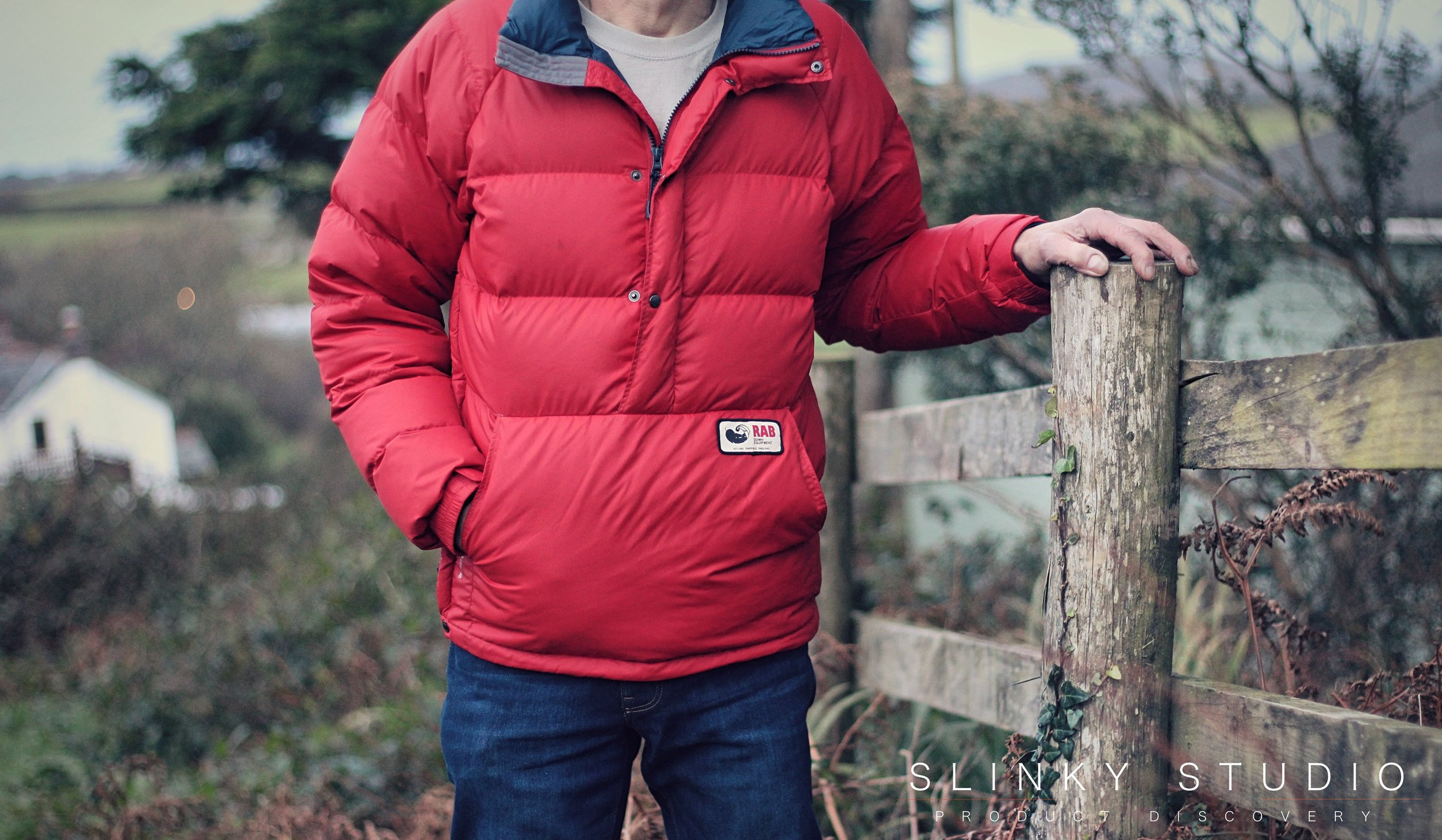 RAB Kinder Smock Rust Red Front View.jpg