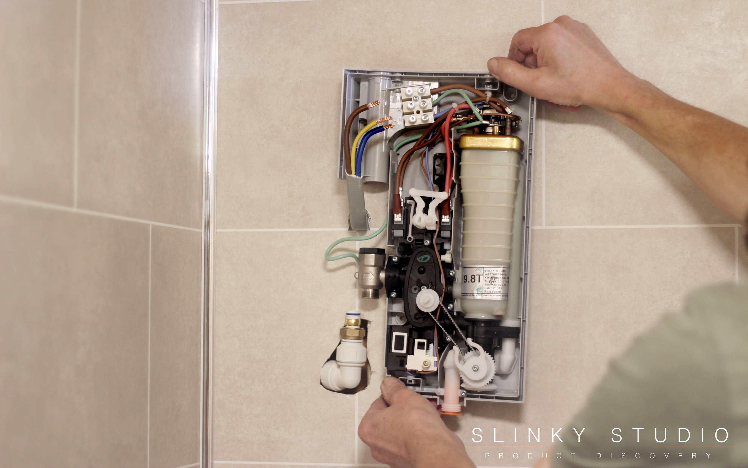 Mira Azora Electric Shower Placing on Dumalock Tiled Wall.jpg