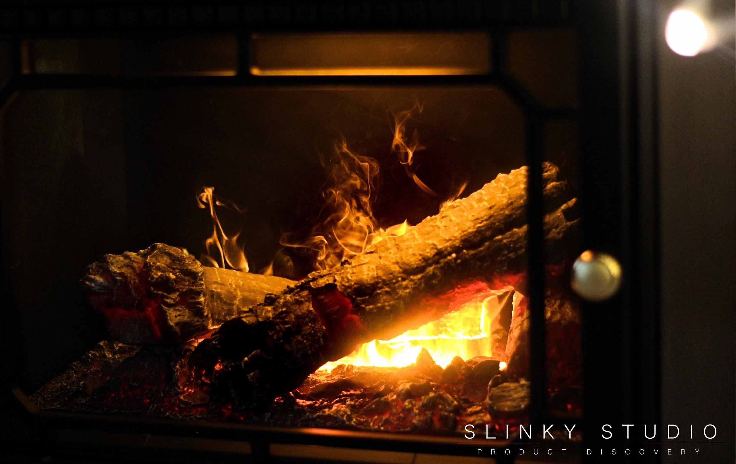 Dimplex Opti-myst Gosford Electric Stove Flame Fire Through Door.jpg