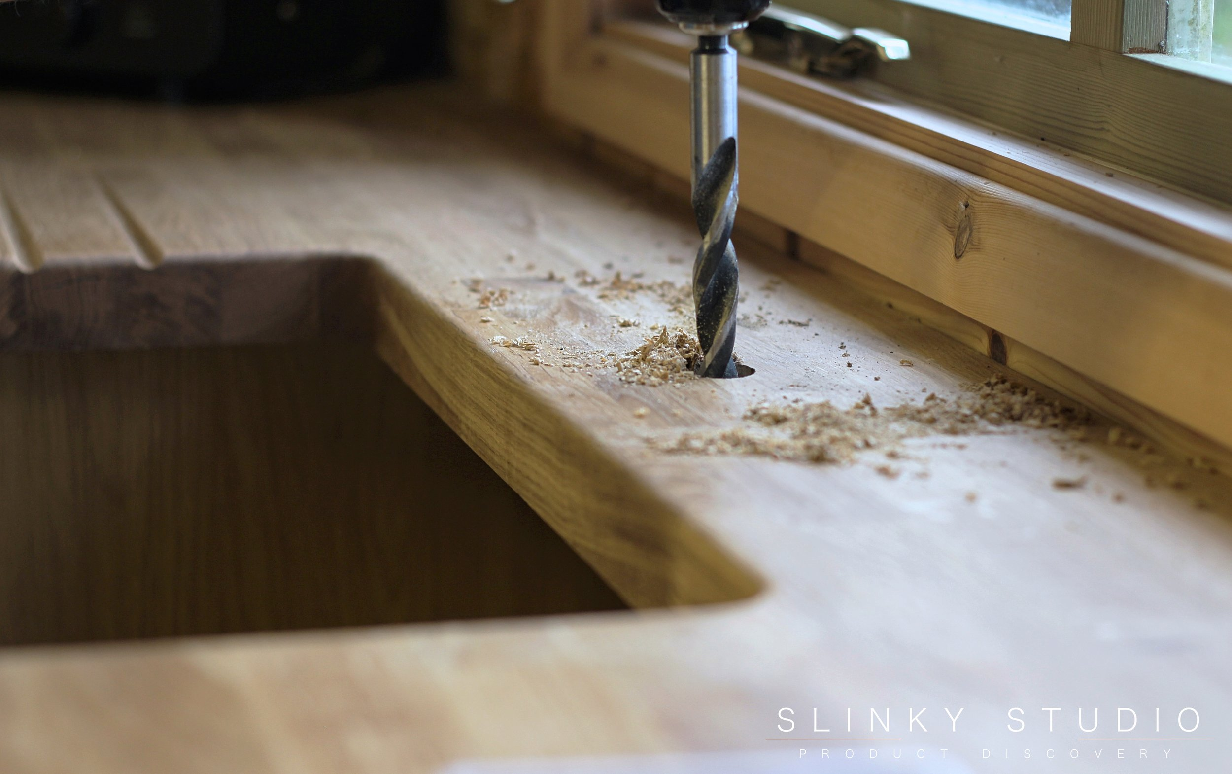 Worktop Express Prime Oak Worktop Drilling Tap Hole.jpg