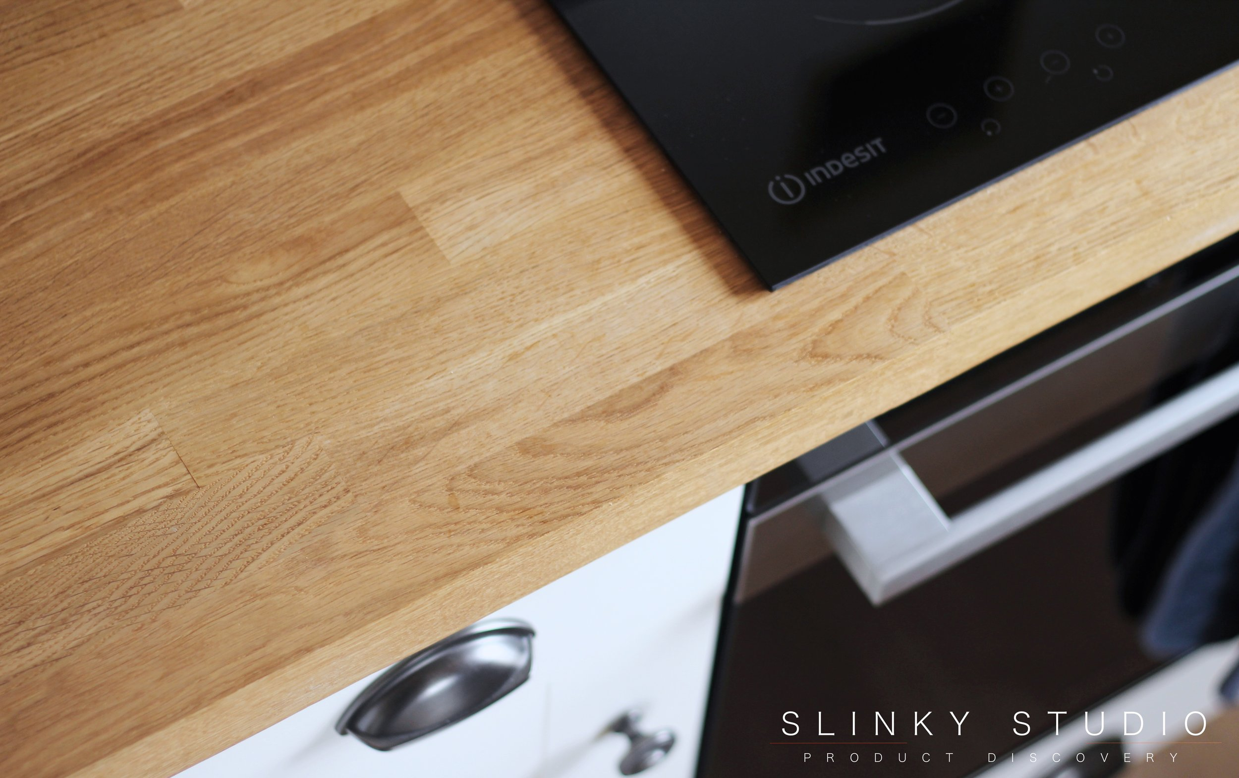 Worktop Express Prime Oak Worktop Above View