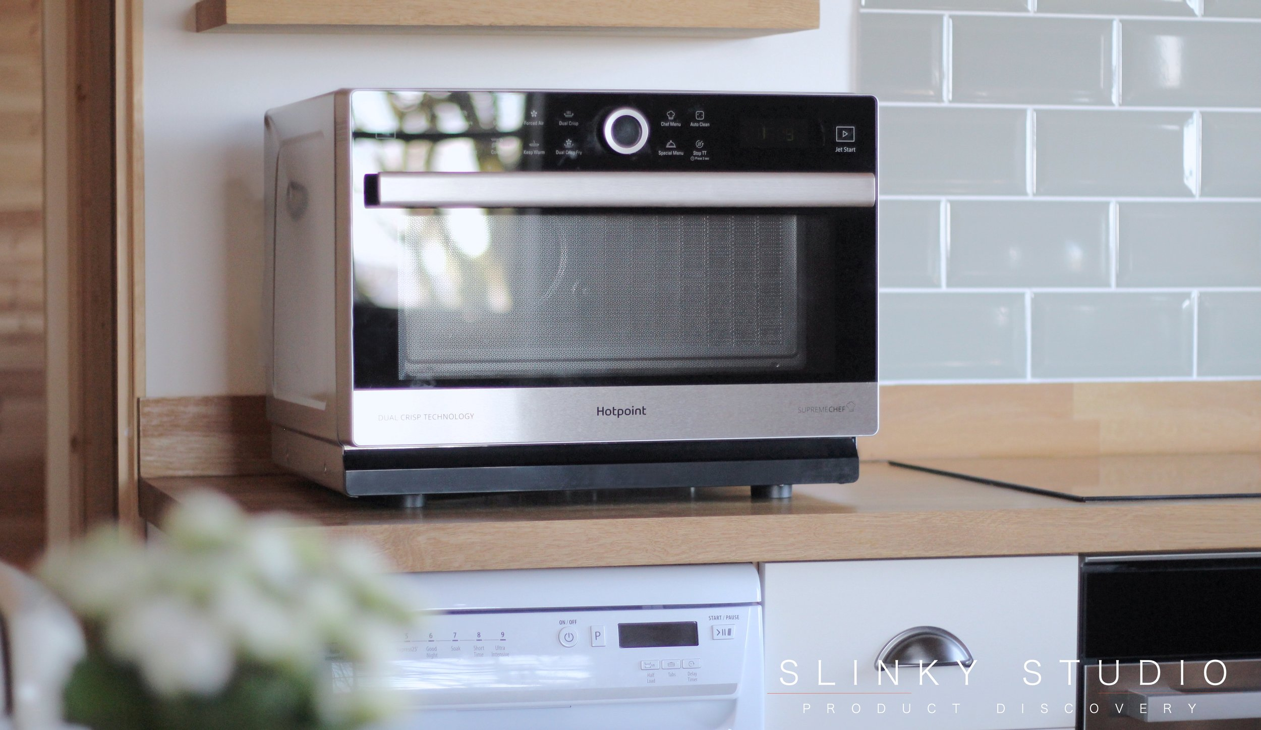 Hotpoint MWH 338 SX Supreme Chef Microwave