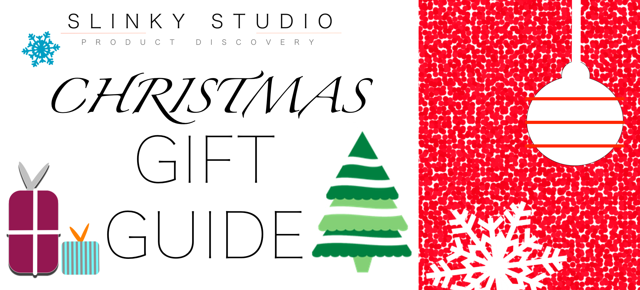 Ultimate Christmas Gift Guide Graphic 2018