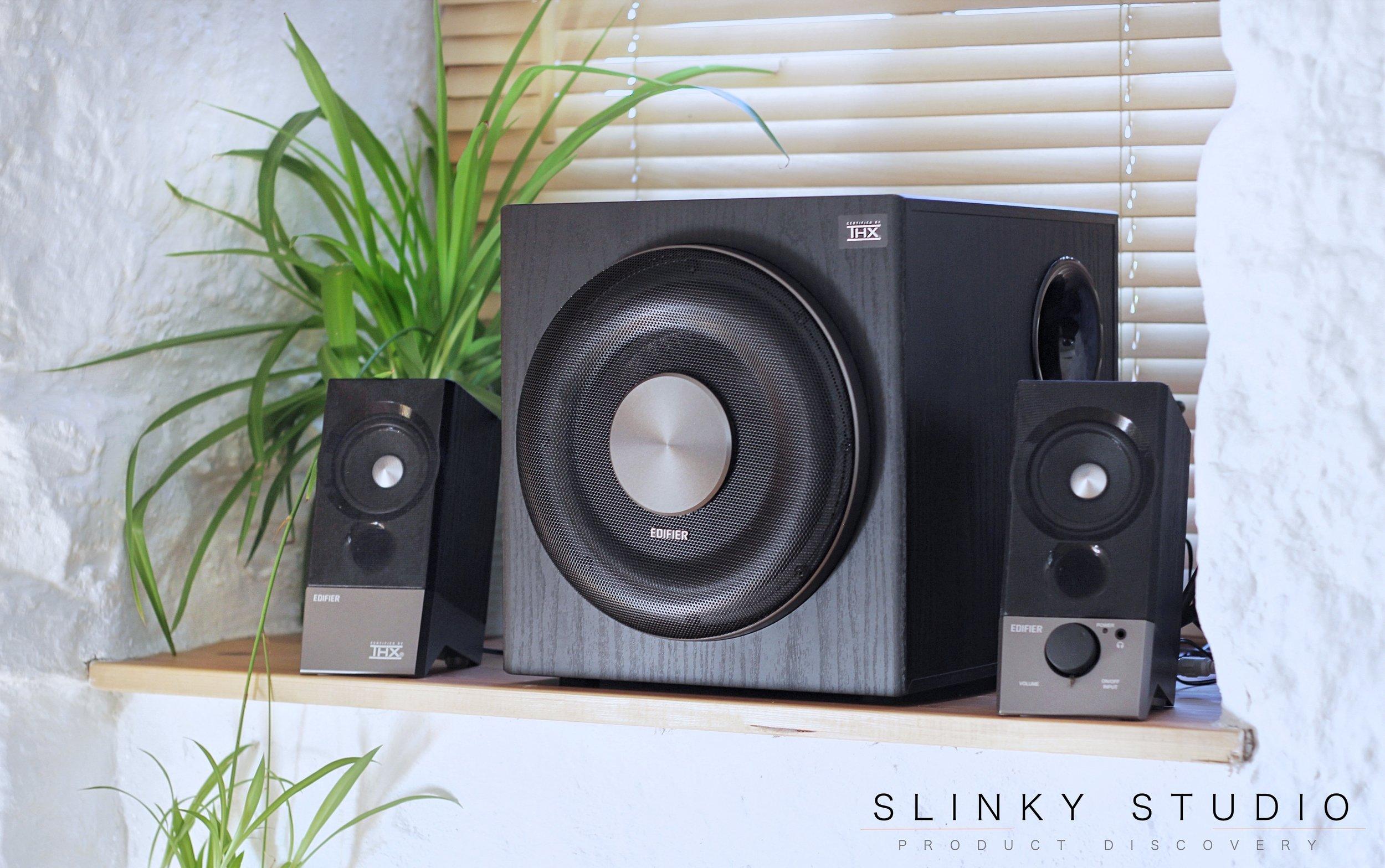 Edifier M3600D Speakers Review - Slinky Studio