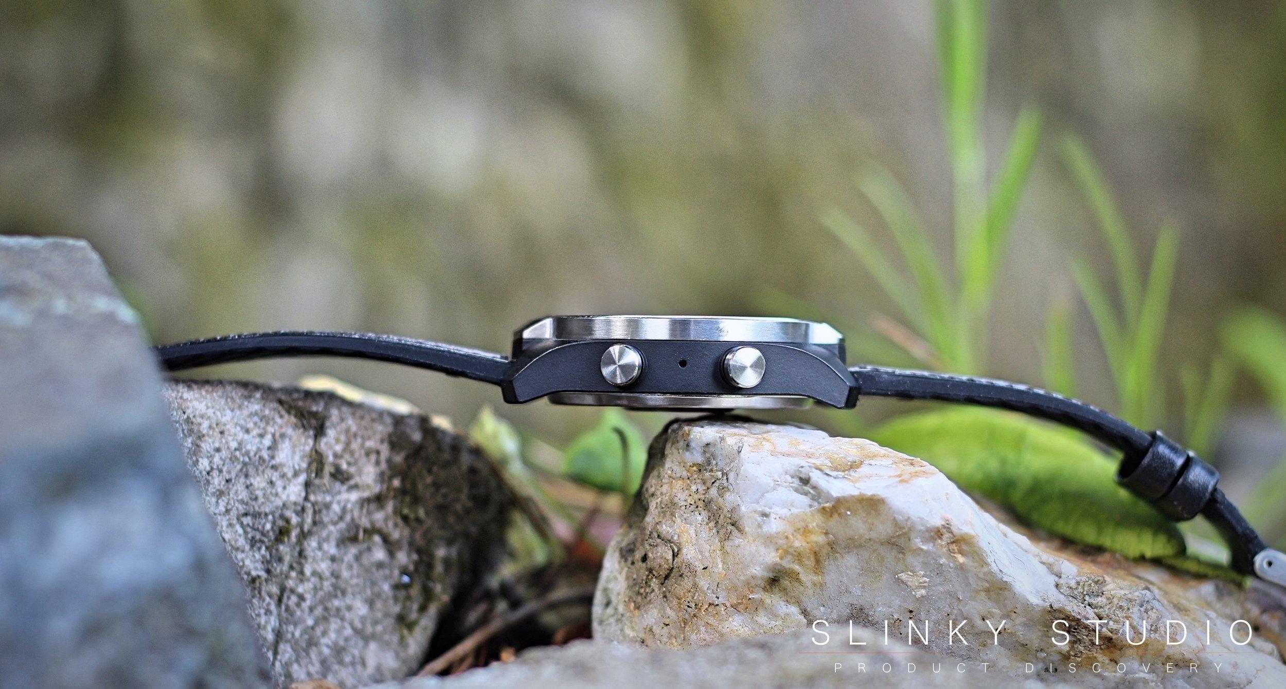 TicWatch Pro Google Wear Smartwatch Side View Crowns.jpg