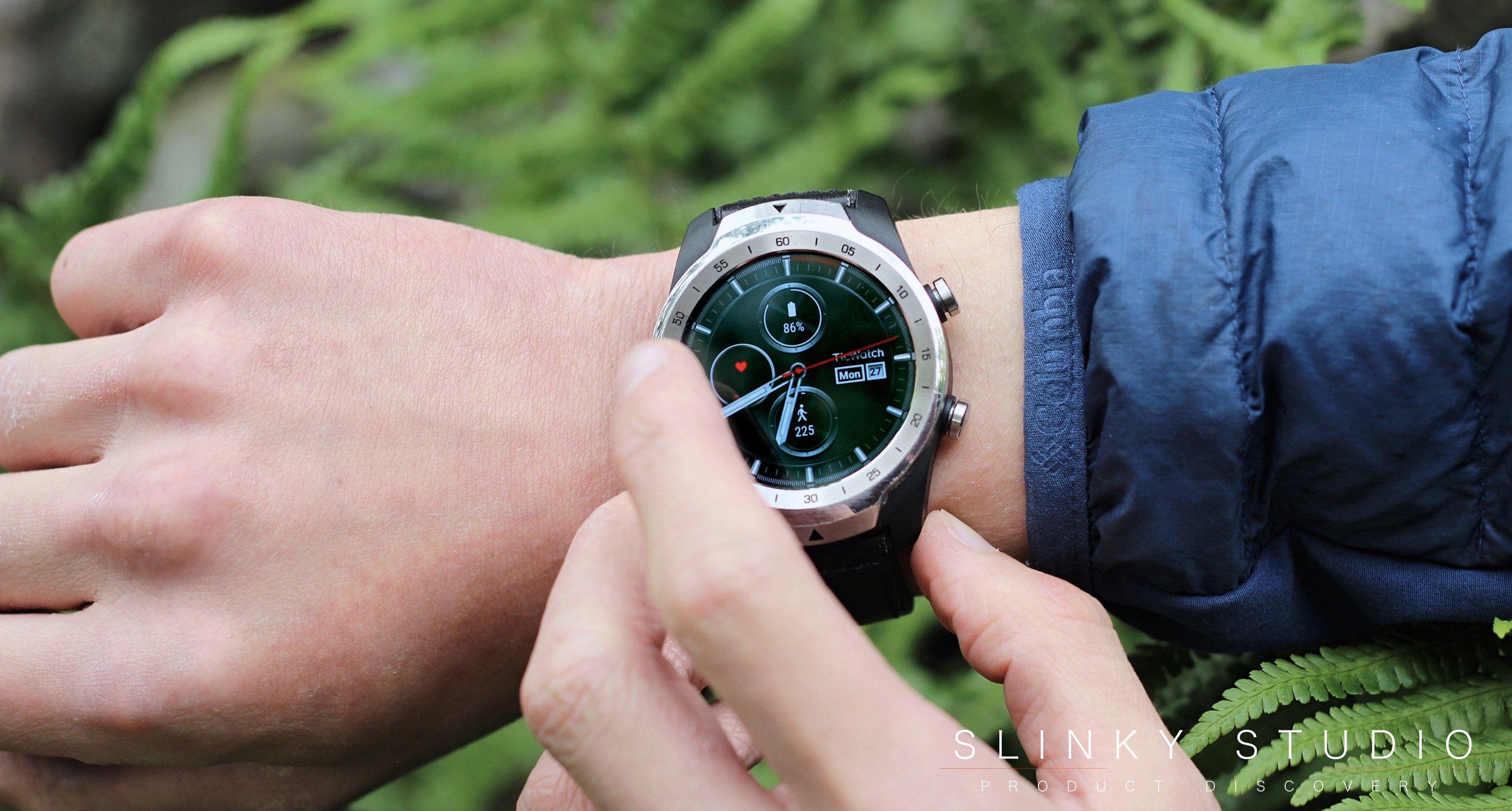 TicWatch Pro Google Wear Smartwatch In Use.jpg
