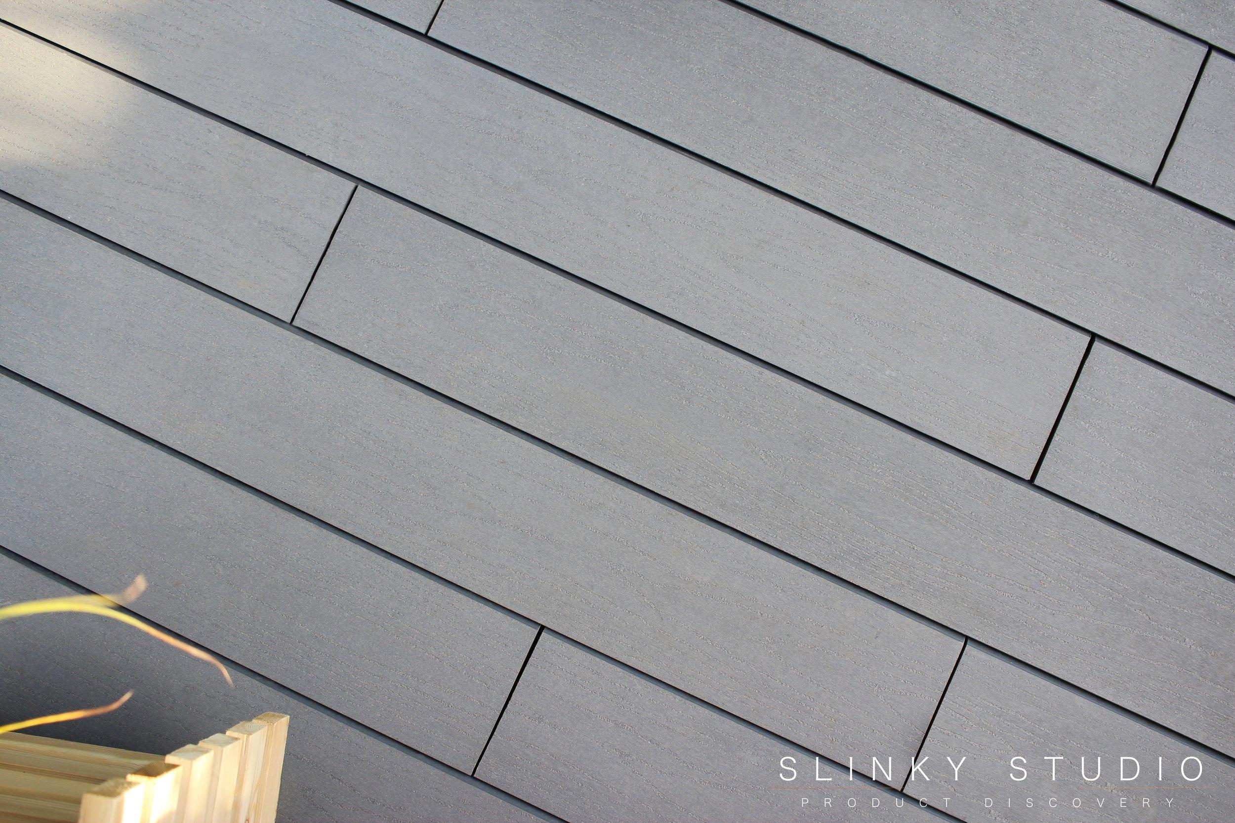 Havwoods Trekker Composite Designer Decking Vulcan Grey Above View Texture Grain.jpg