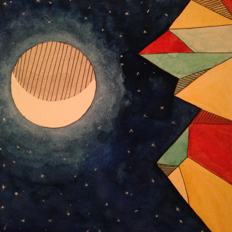Erin Inman watercolor, gouche, ink