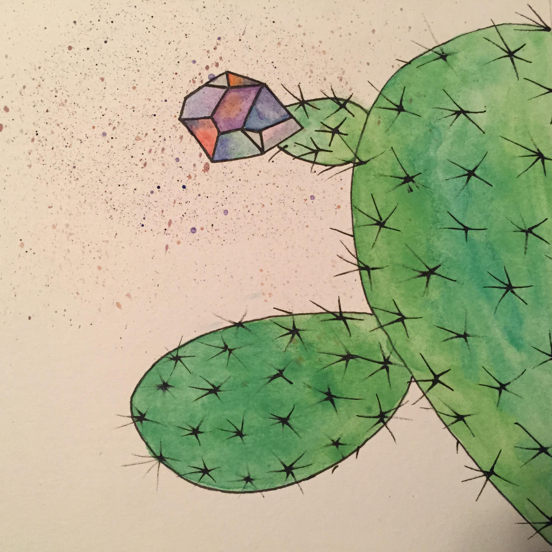 Erin Inman  watercolor, ink