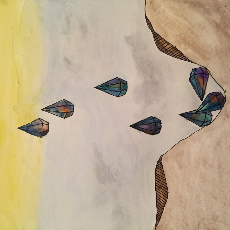 Erin Inman  ink & watercolor