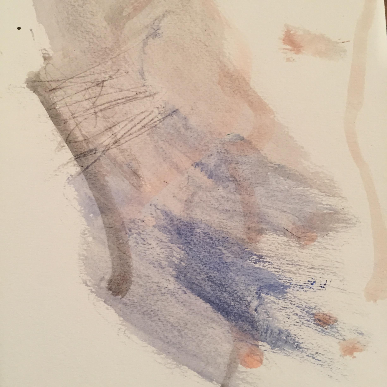 Ira Inman,watercolor