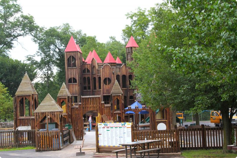 "Although the kids' run won't actually ""storm the castle"", the Kids' Castle at Doylestown's Central Park will hopefully be re-opened from a few renovations!"