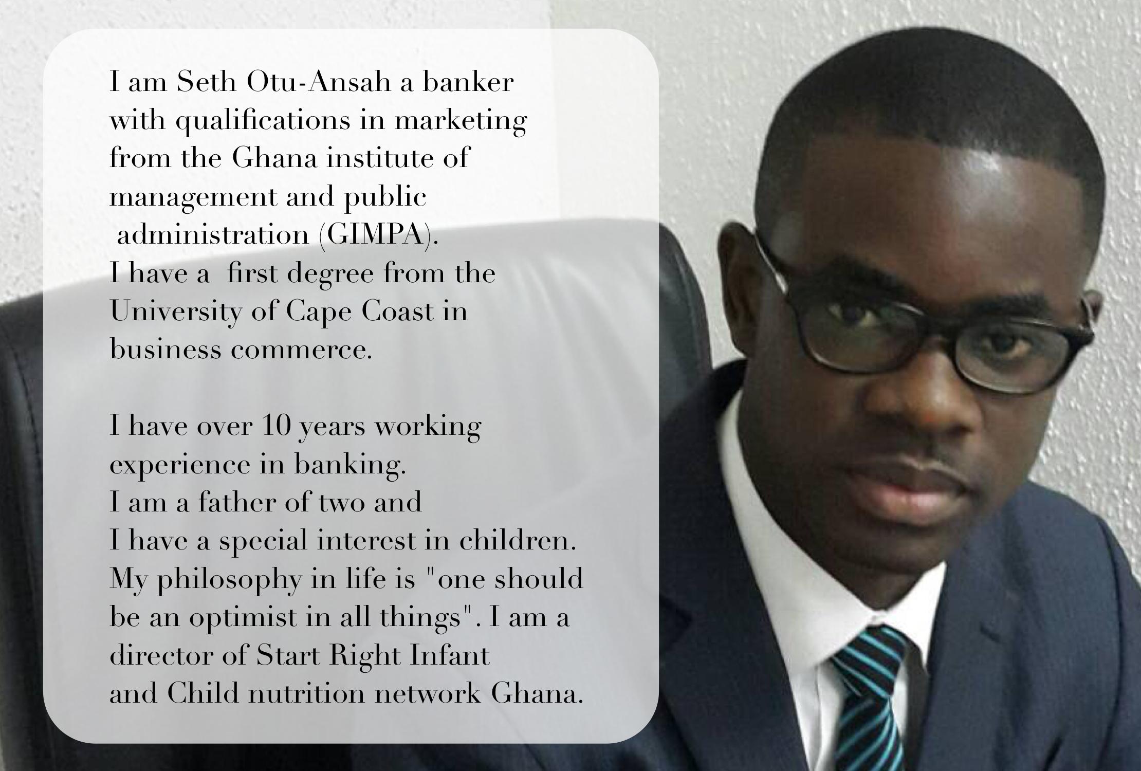 SETH OTU - ANSAH, DIRECTOR (FINANCE)