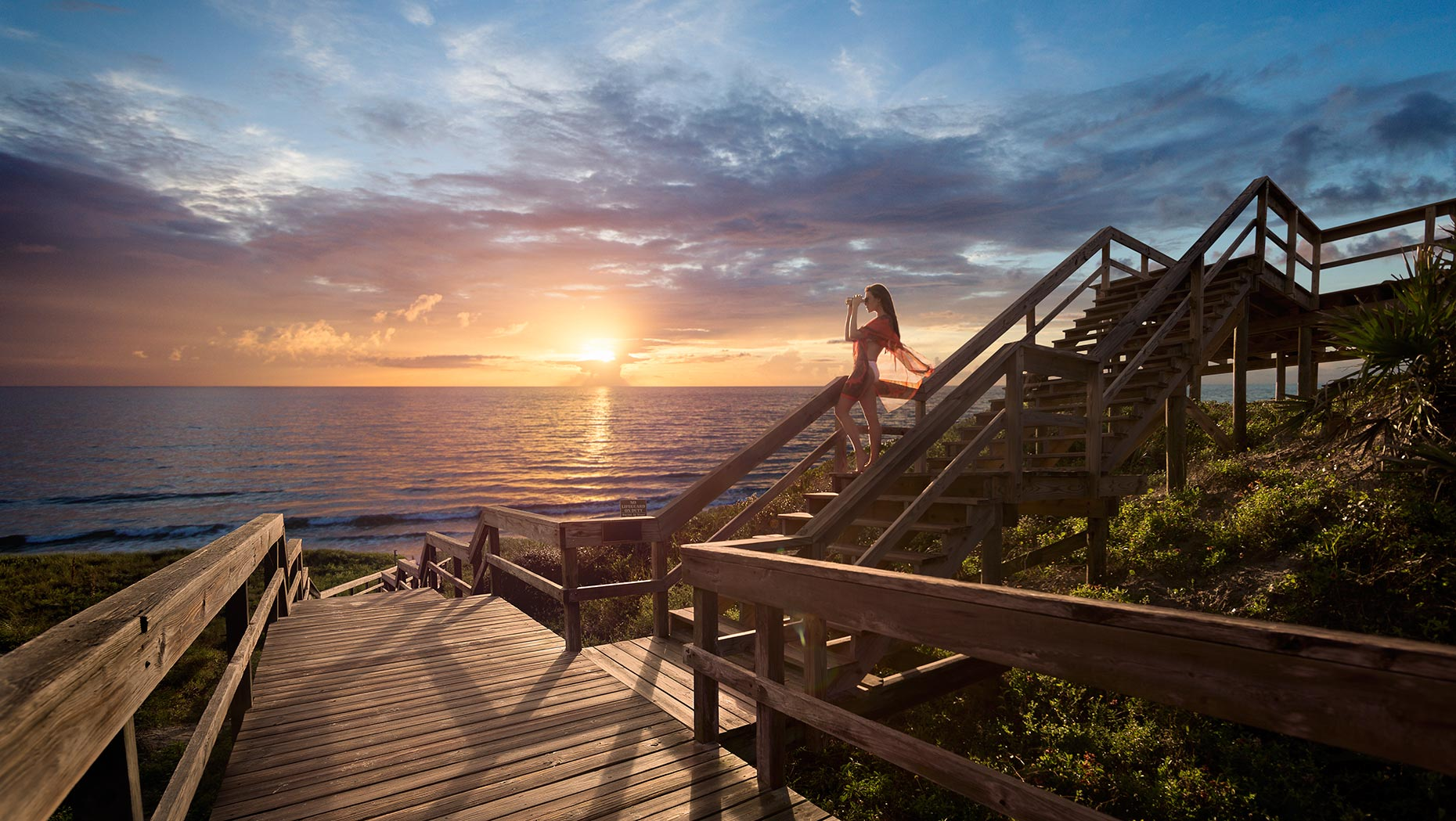 ST. AUGUSTINE- PONTE VEDRA FLORIDA TOURISM  LOCATION: PONTE VEDRA, FLORIDA