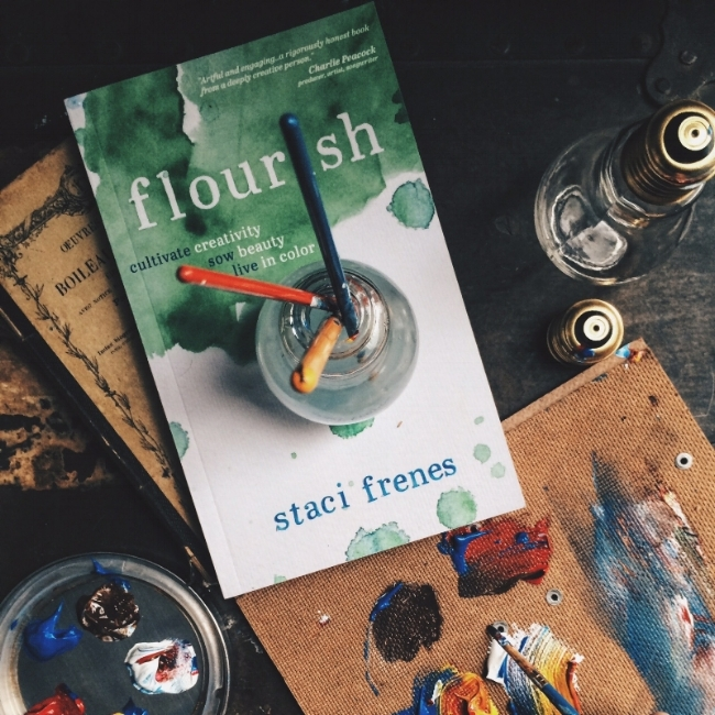 """Flourish events and retreats are designed to inspire and nurture creativity!"" -Staci Frenes"