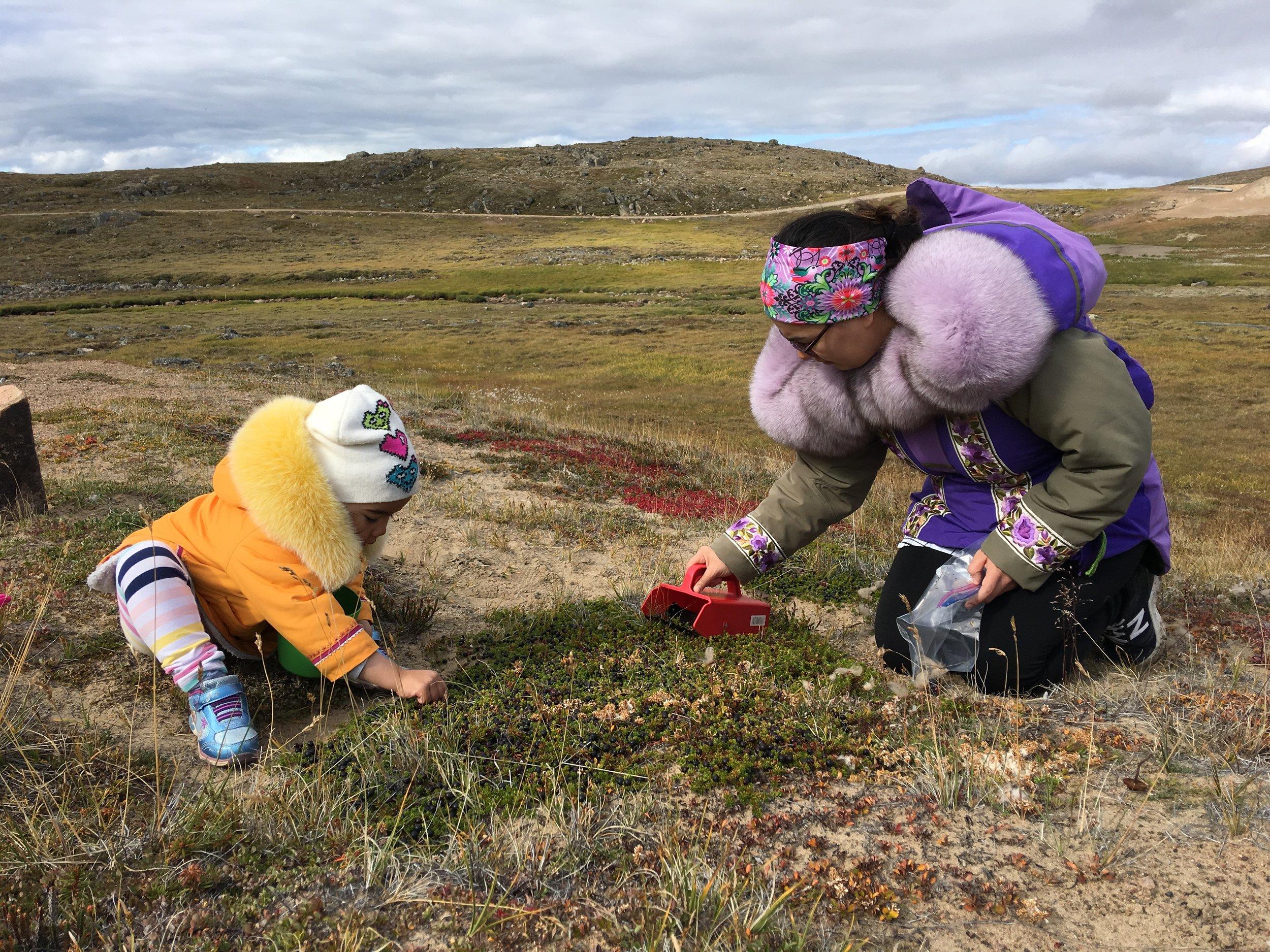 'Mother-Daughter' by Eetuk Groves, Iqaluit