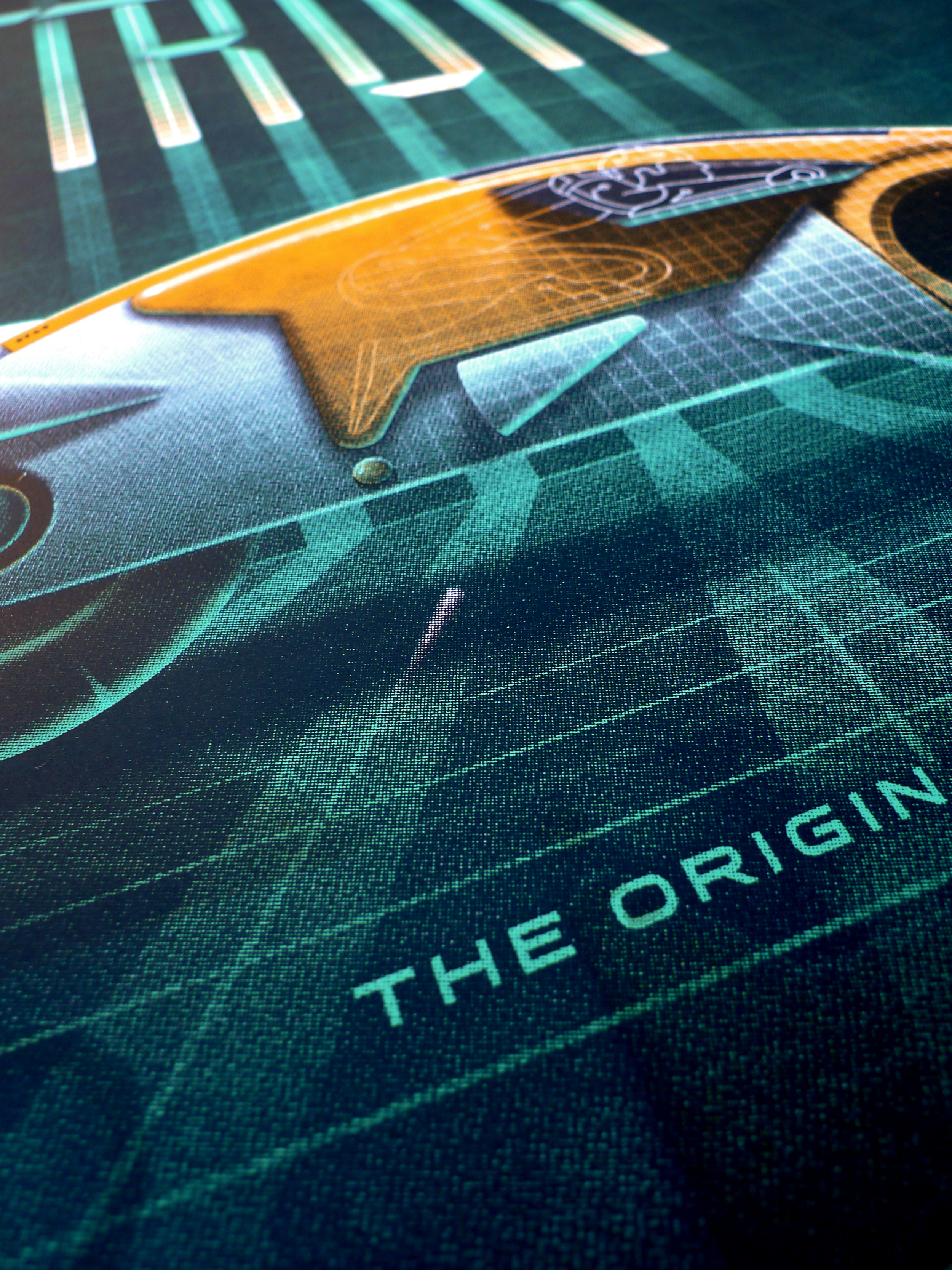 Tron: The Original Classic Poster by DKNG