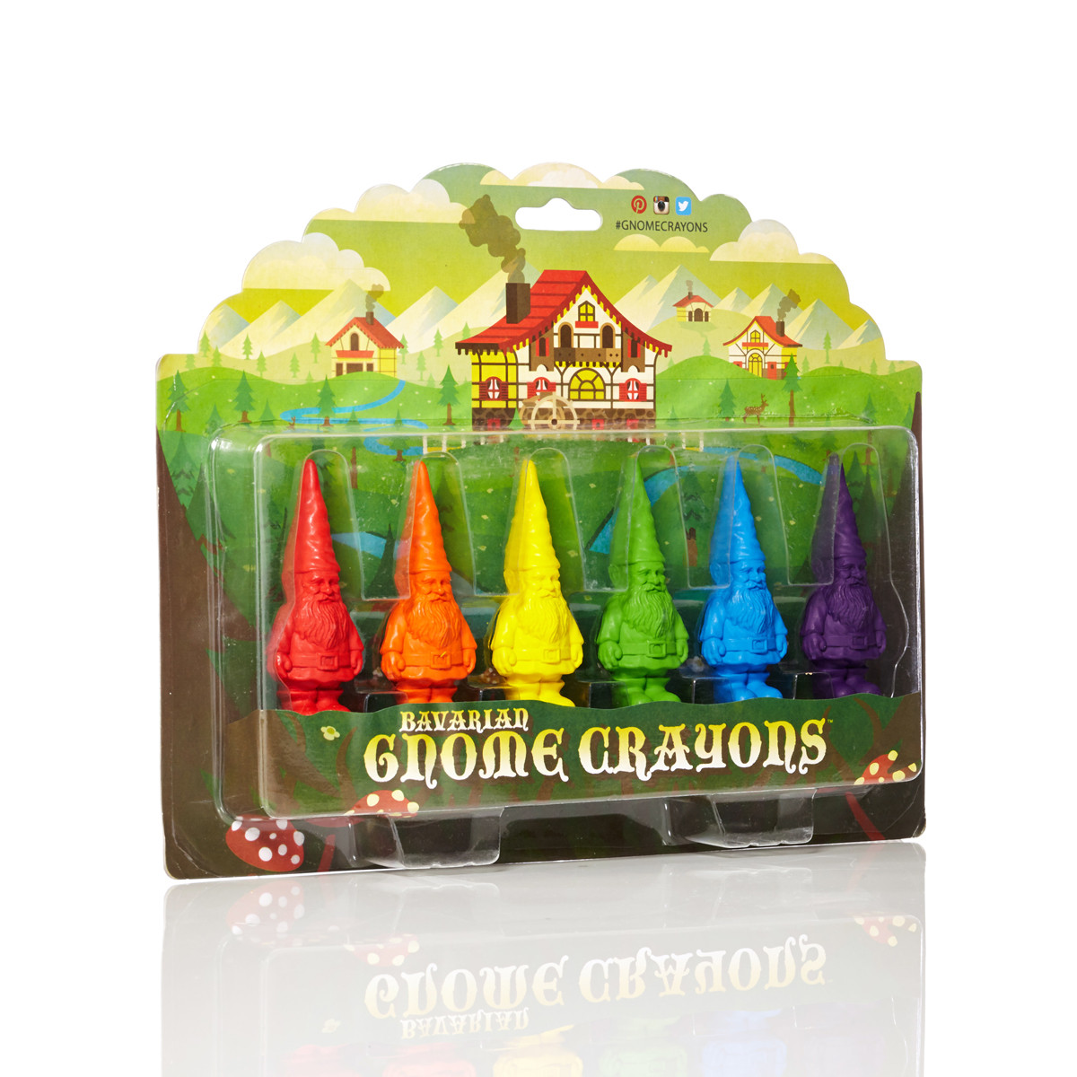 Gnome Crayons Packaging Design by DKNG