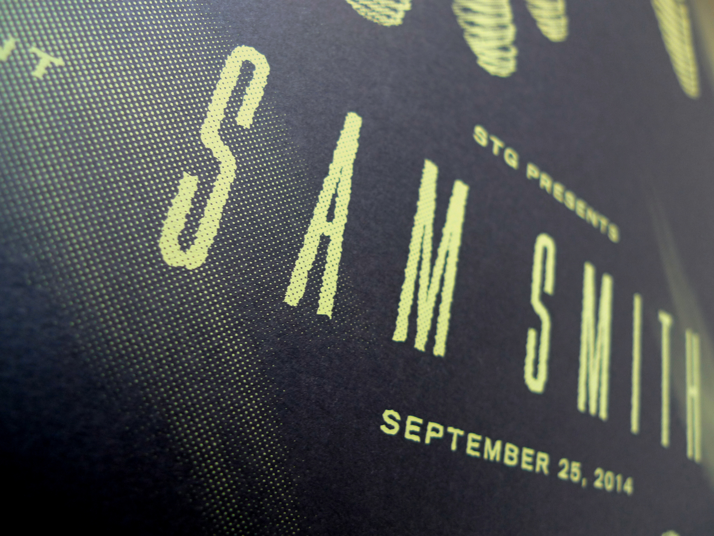 Sam Smith Poster by DKNG