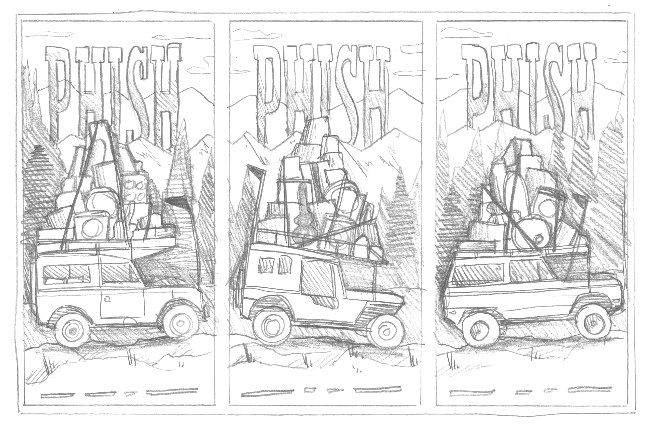 Phish // Commerce City, CO Posters by DKNG