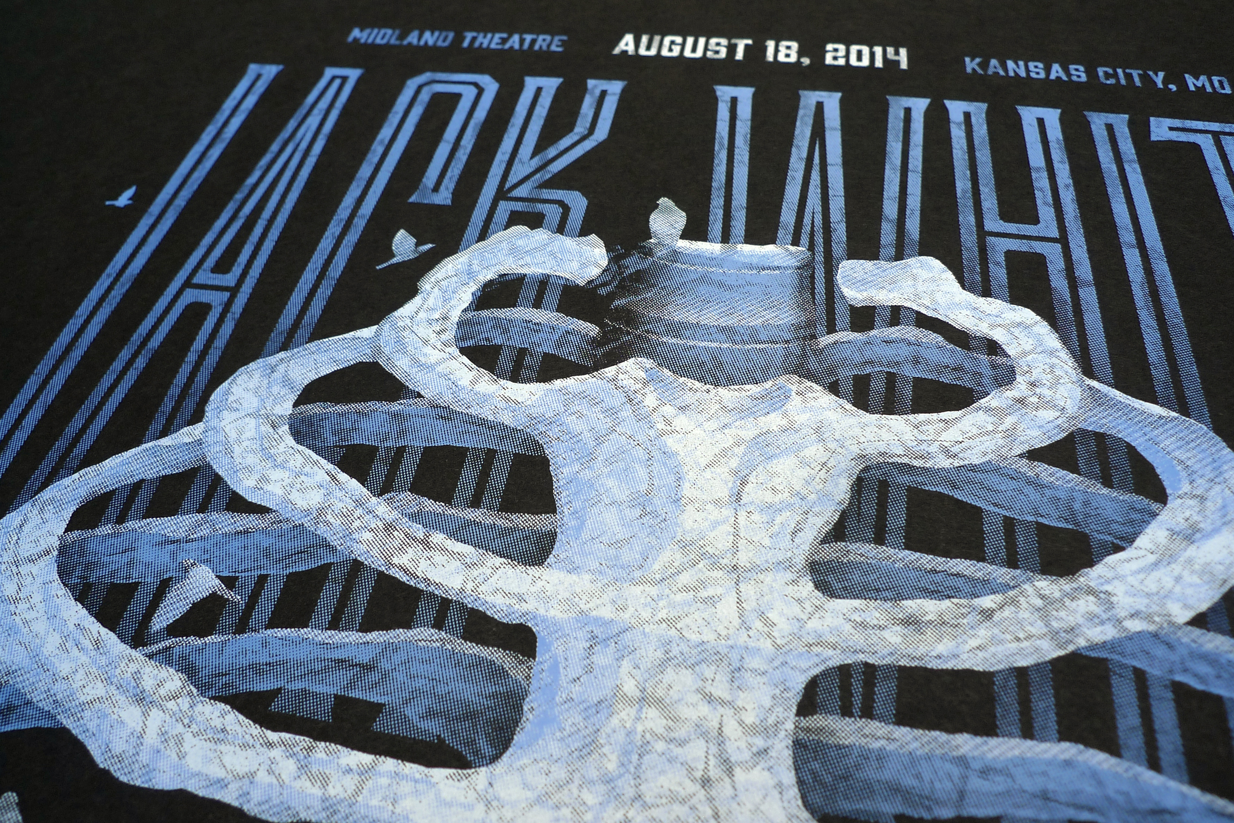Jack White // Kansas City, MO Poster by DKNG