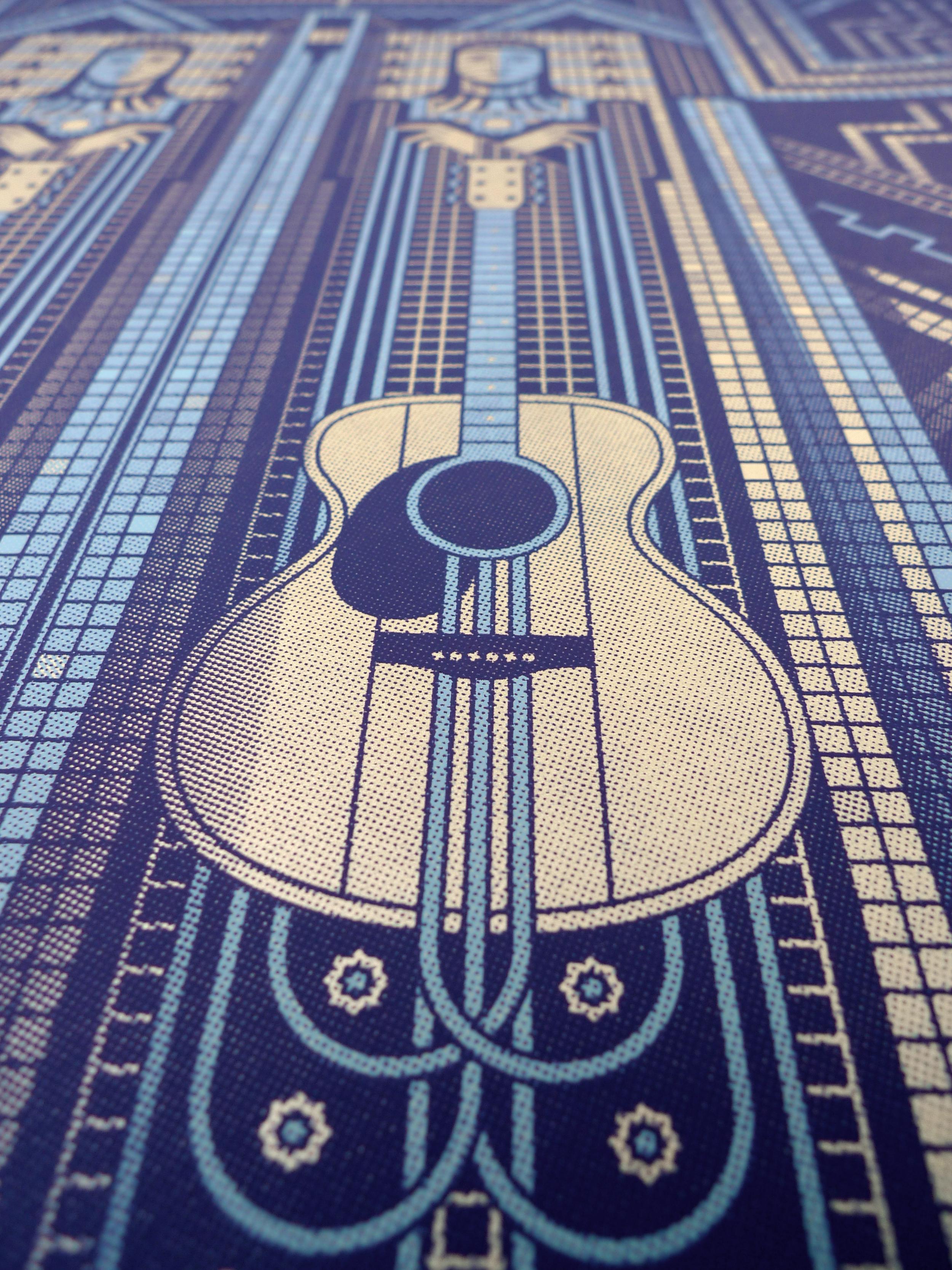 Dave Matthews & Tim Reynolds Gig Poster by DKNG