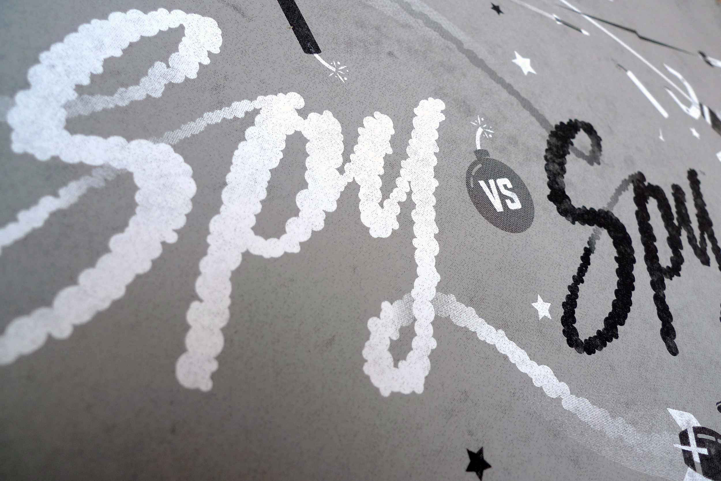 Spy Vs. Spy Poster by DKNG