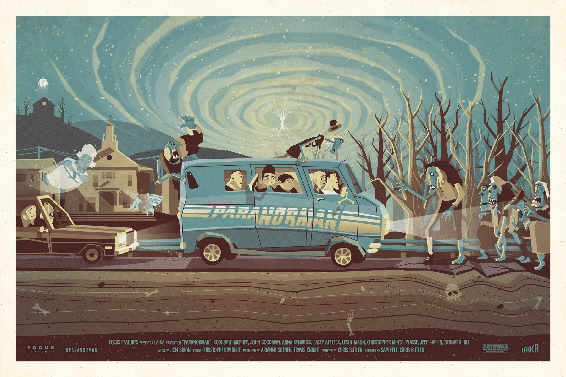 ParaNorman Poster by DKNG